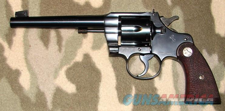 Colt Officers Model Target 3rd Issue  Guns > Pistols > Colt Double Action Revolvers- Pre-1945