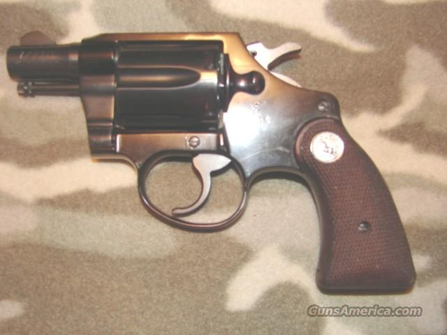 Colt Agent First Issue  Guns > Pistols > Colt Double Action Revolvers- Modern