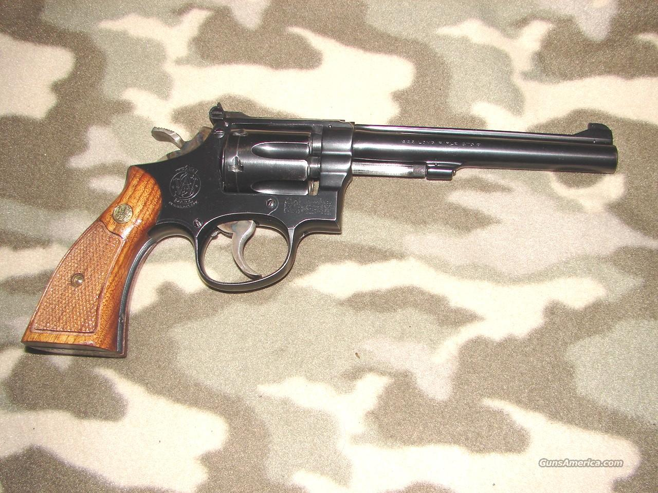 Smith & Wesson Post War Pre 17  Guns > Pistols > Smith & Wesson Revolvers > Full Frame Revolver