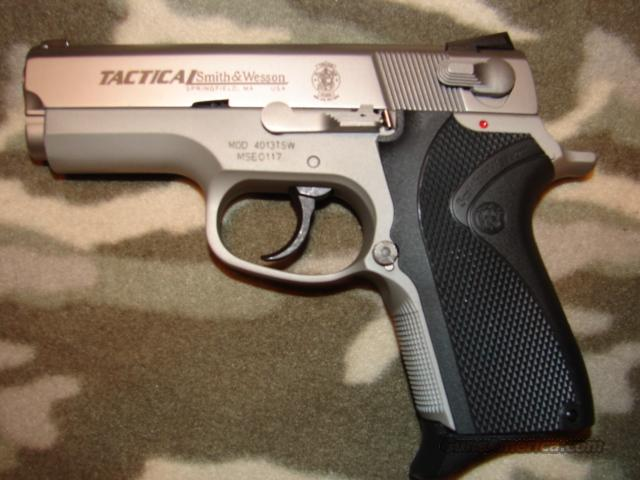 Smith & Wesson 4013TSW Tactical   Guns > Pistols > Smith & Wesson Pistols - Autos > Alloy Frame