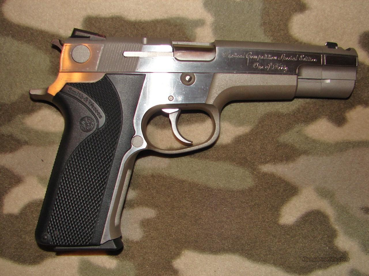 Smith & Wesson Tac  Comp Sp Ed   Guns > Pistols > Smith & Wesson Pistols - Autos > Steel Frame