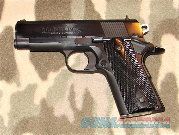 Colt Officers Model 45 ACP  Guns > Pistols > Colt Automatic Pistols (1911 & Var)