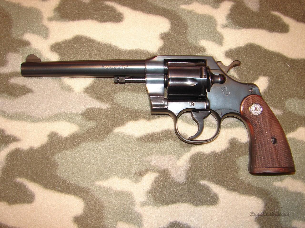 Colt Official Police  Guns > Pistols > Colt Double Action Revolvers- Modern
