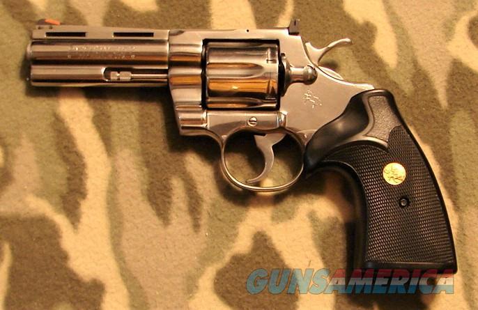 "Colt Python 4"" Stainless  Guns > Pistols > Colt Percussion Revolver - Modern"