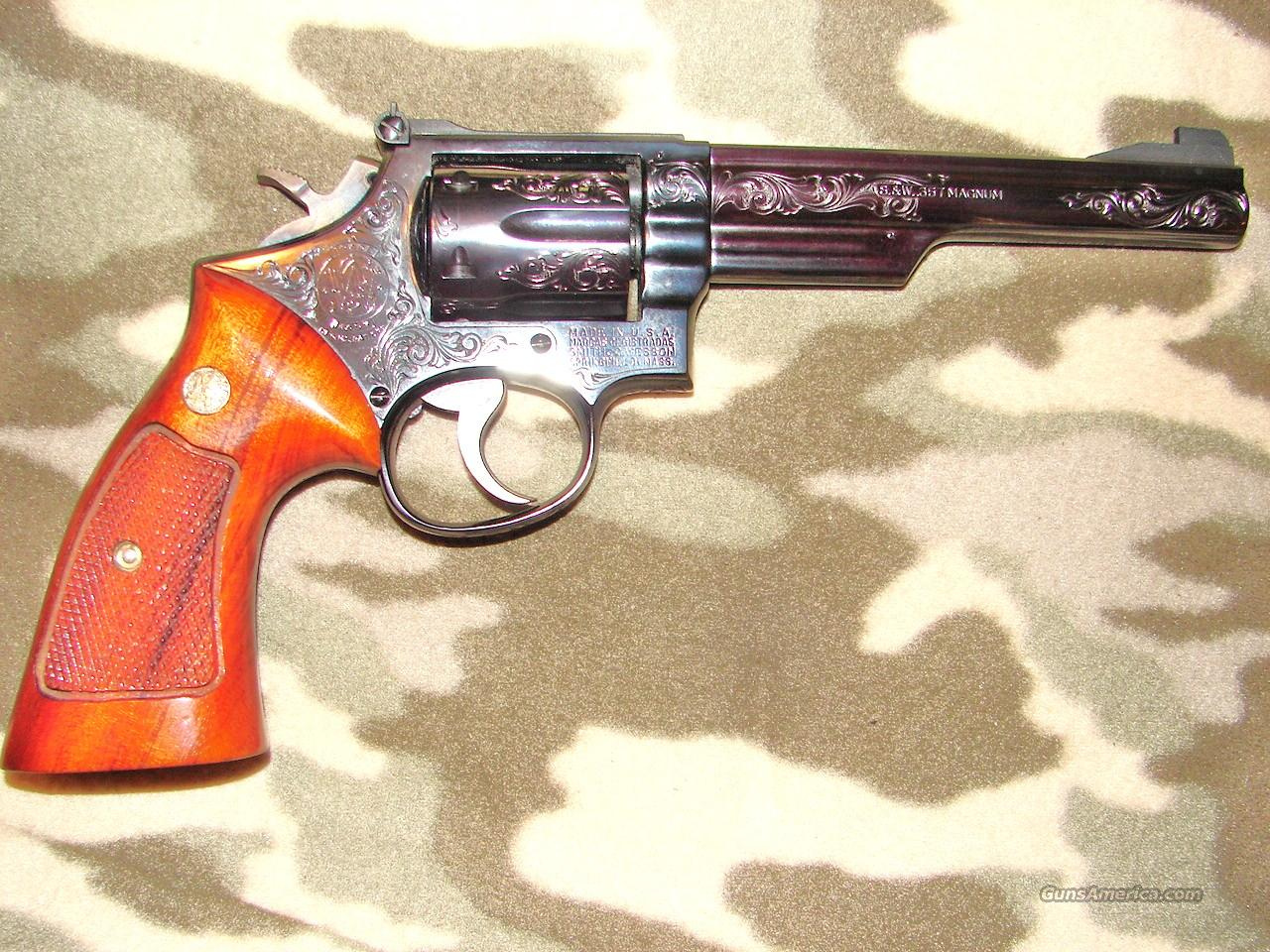 Smith & Wesson 19-3 Engraved  Guns > Pistols > Smith & Wesson Revolvers > Full Frame Revolver