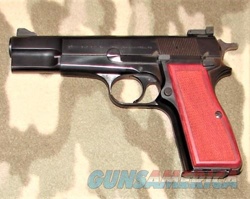 Browning Hi Power 9m/m   Guns > Pistols > Browning Pistols > Hi Power