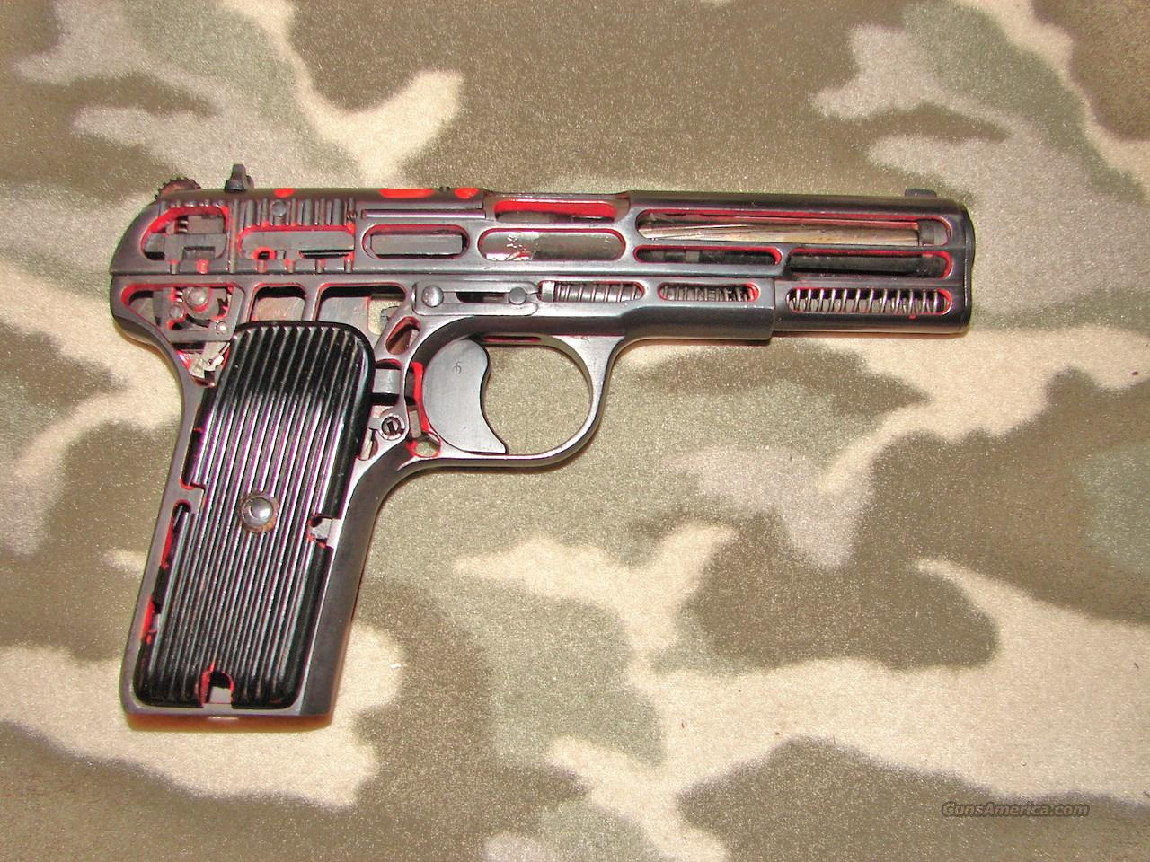 Radom M57 Cut-A-Way  Guns > Pistols > R Misc Pistols