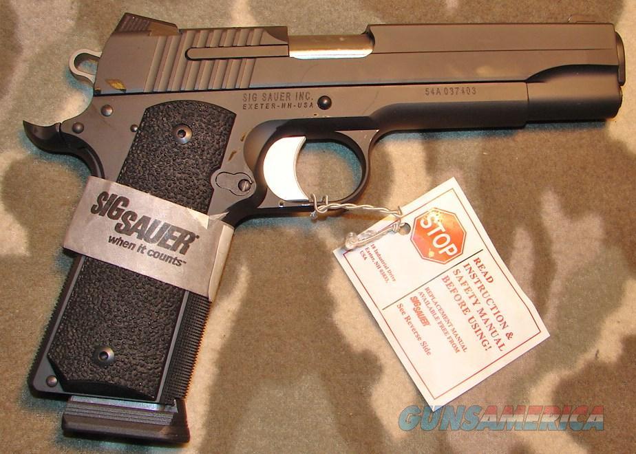 Sig Sauer 1911 Xo   Guns > Pistols > Sig - Sauer/Sigarms Pistols > 1911