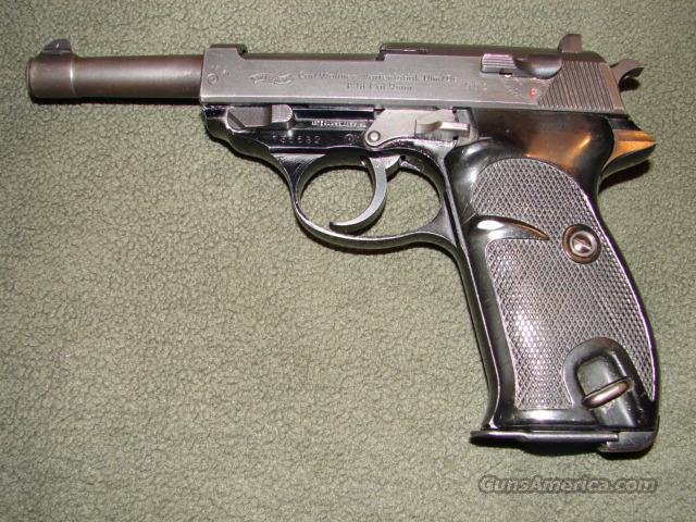 Walther P1 (P-38) Pistol  Guns > Pistols > Walther Pistols > Post WWII > P-38