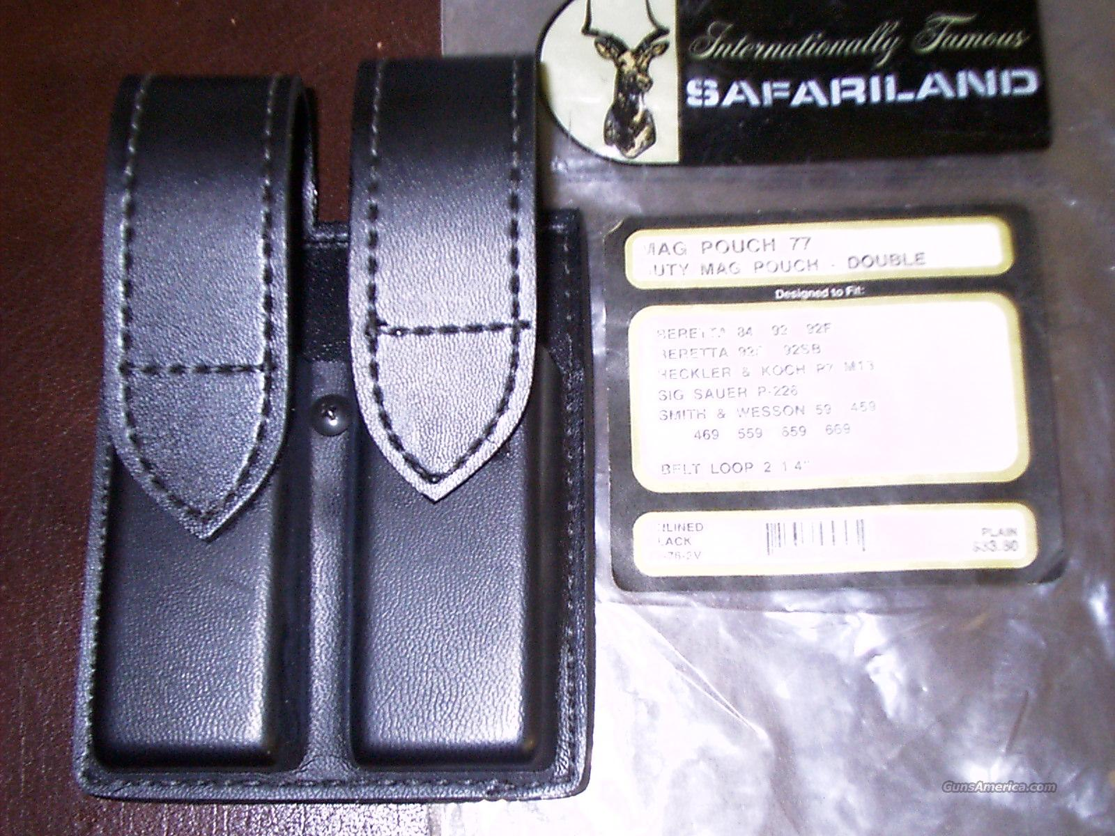 SAFARILAND DOUBLE MAG POUCH  Non-Guns > Magazines & Clips > Pistol Magazines > Other