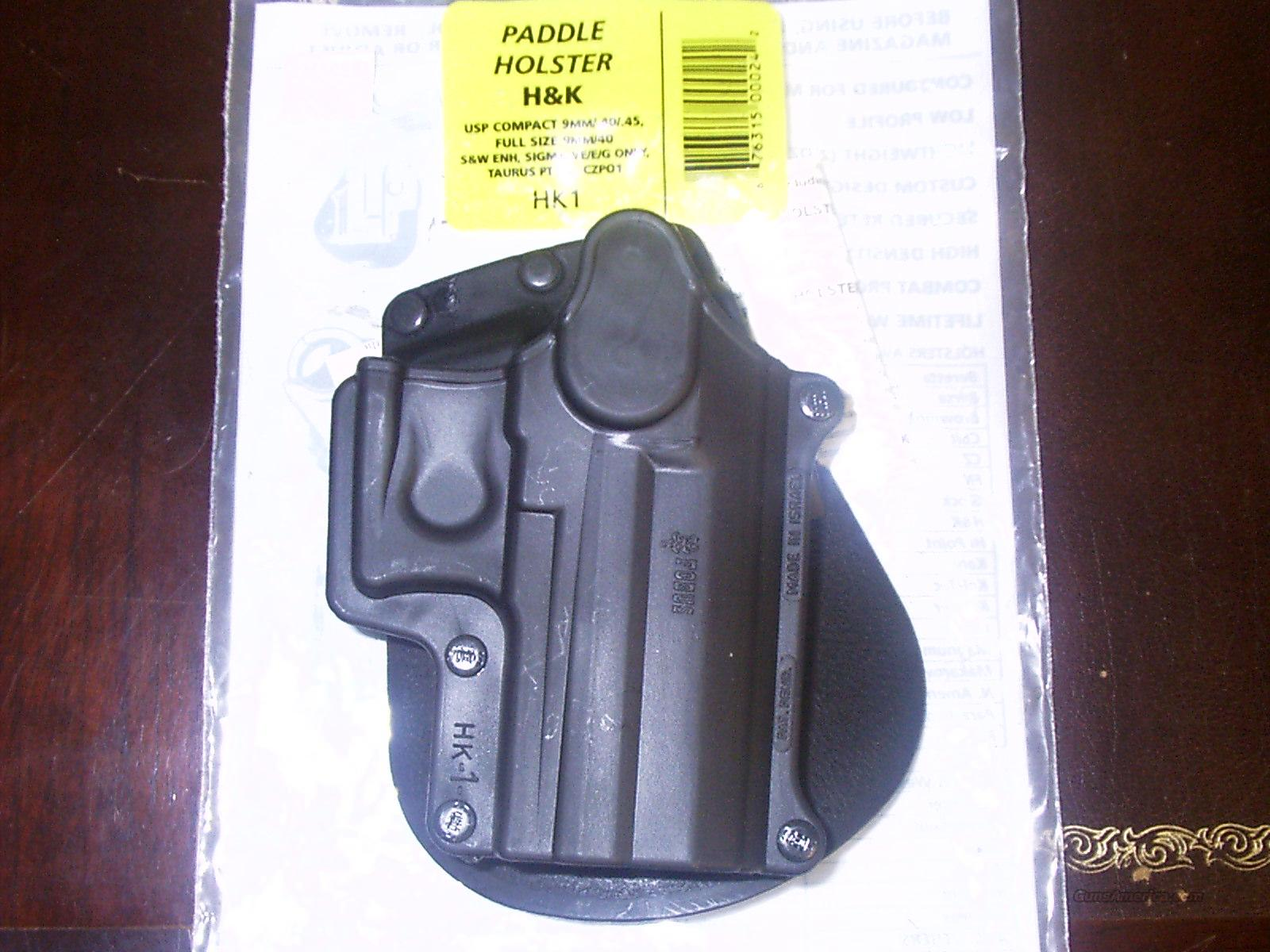 FOBUS TACTICAL ELITE PADDLE HOLSTER  Non-Guns > Holsters and Gunleather > Concealed Carry