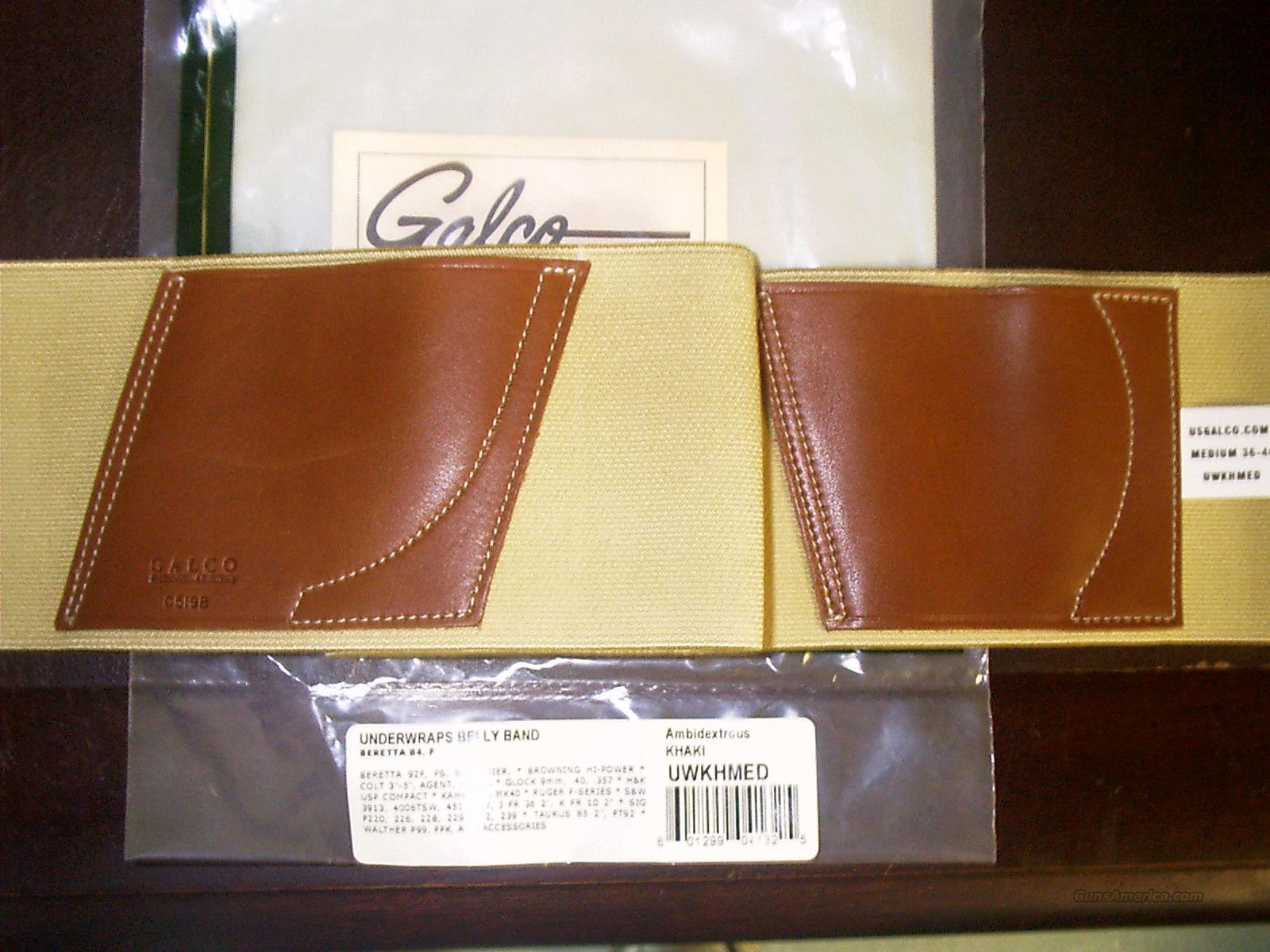 GALCO UNDERWRAP BELLY BAND  Non-Guns > Holsters and Gunleather > Concealed Carry