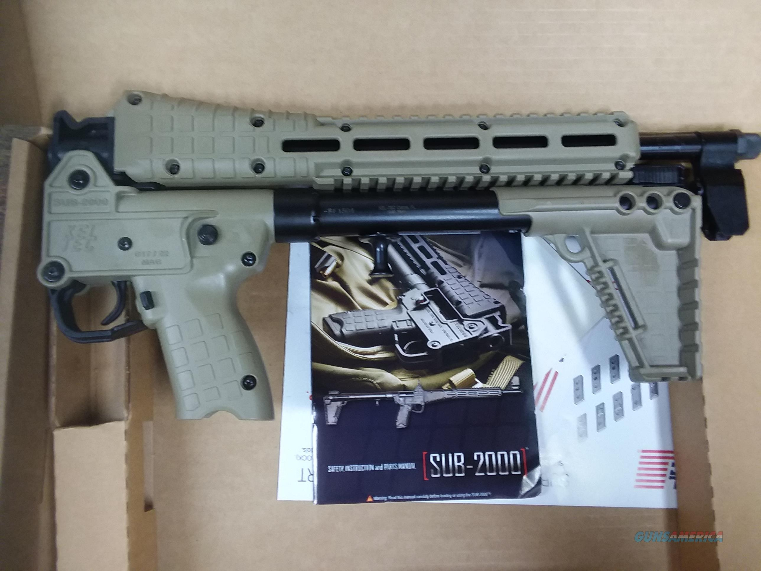 Sub-2000 9 MM Glock  Guns > Rifles > Kel-Tec Rifles