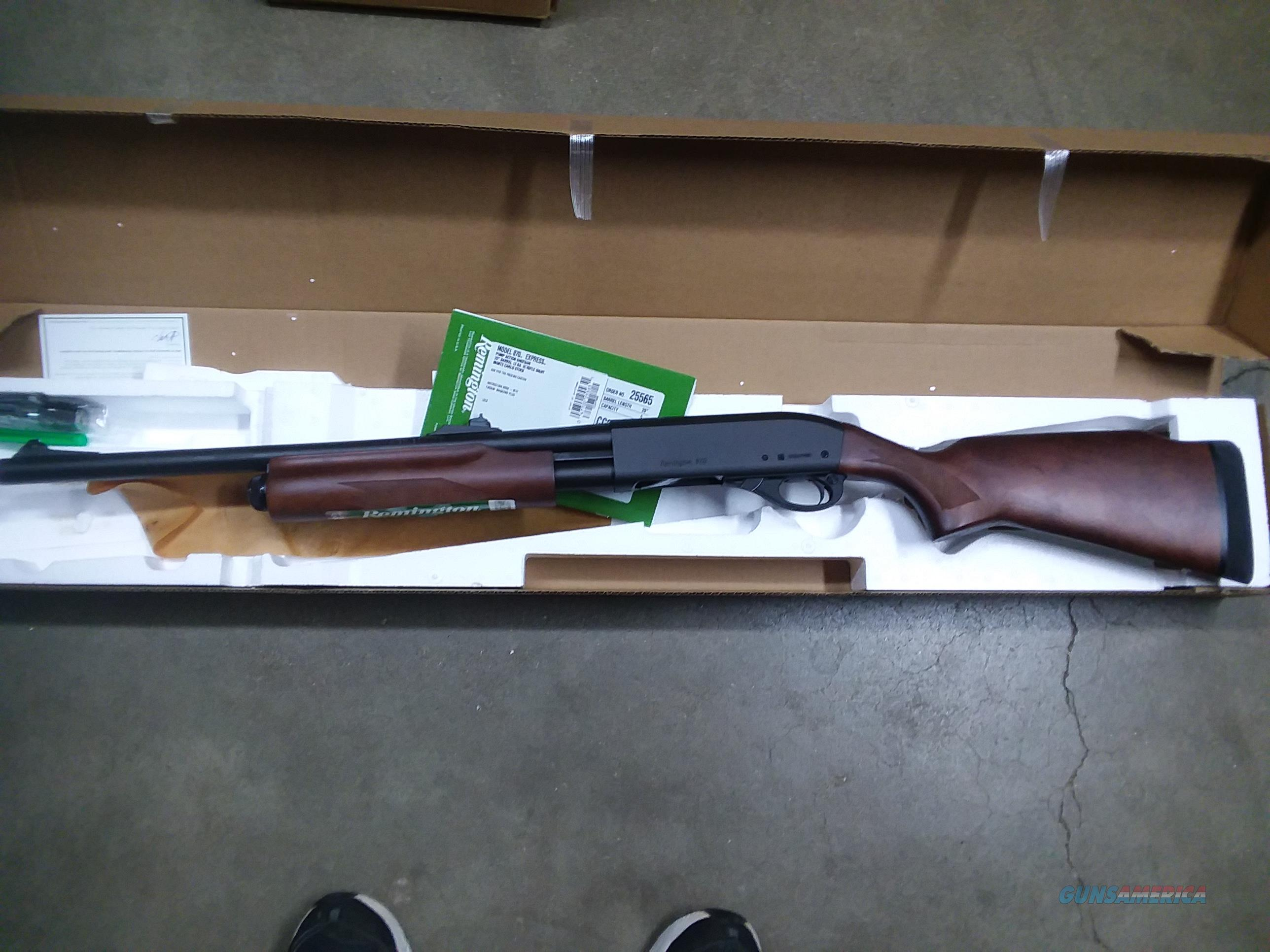 870 Express Slug Gun -- 12 ga.  Guns > Shotguns > Remington Shotguns  > Pump > Hunting