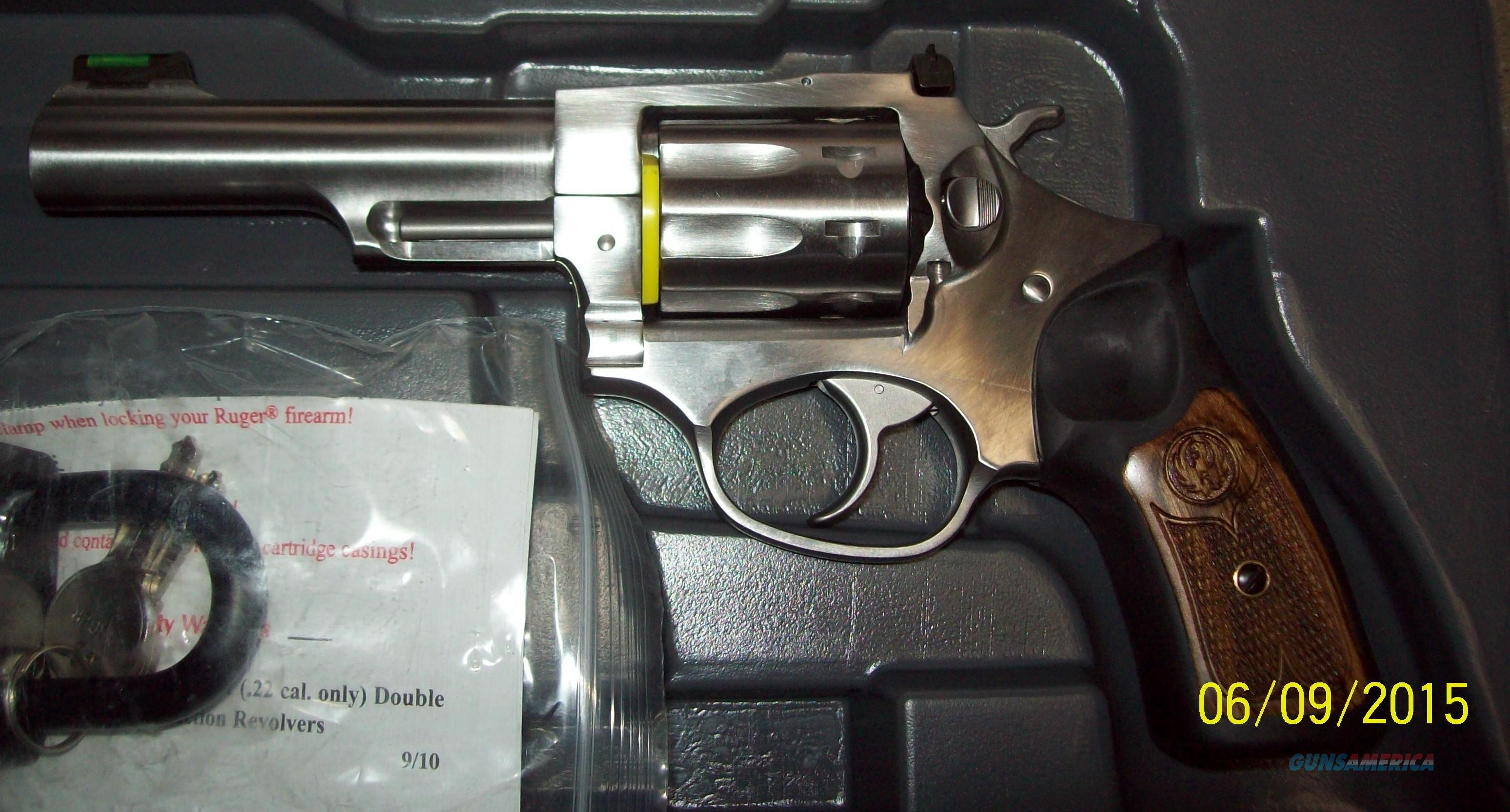 SP-101 .22 LR  Guns > Pistols > Ruger Double Action Revolver > SP101 Type