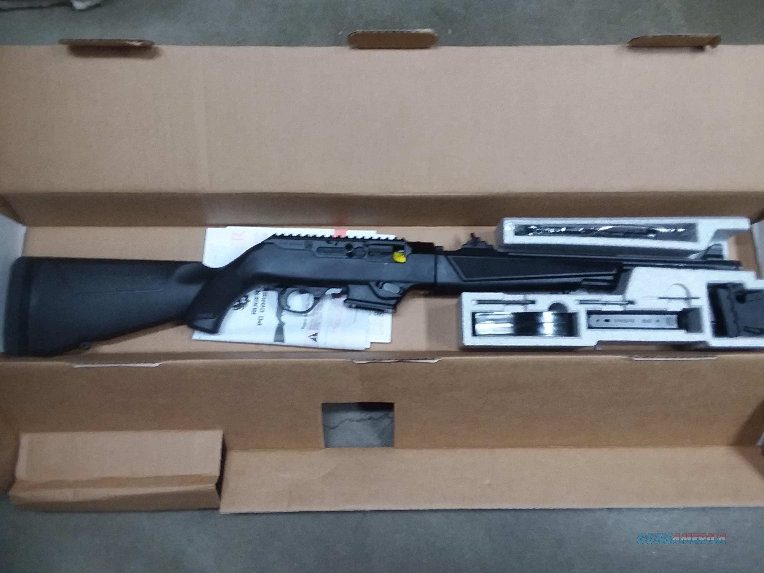 Ruger PC-9 9 MM Carbine  Guns > Rifles > Ruger Rifles > SR Series