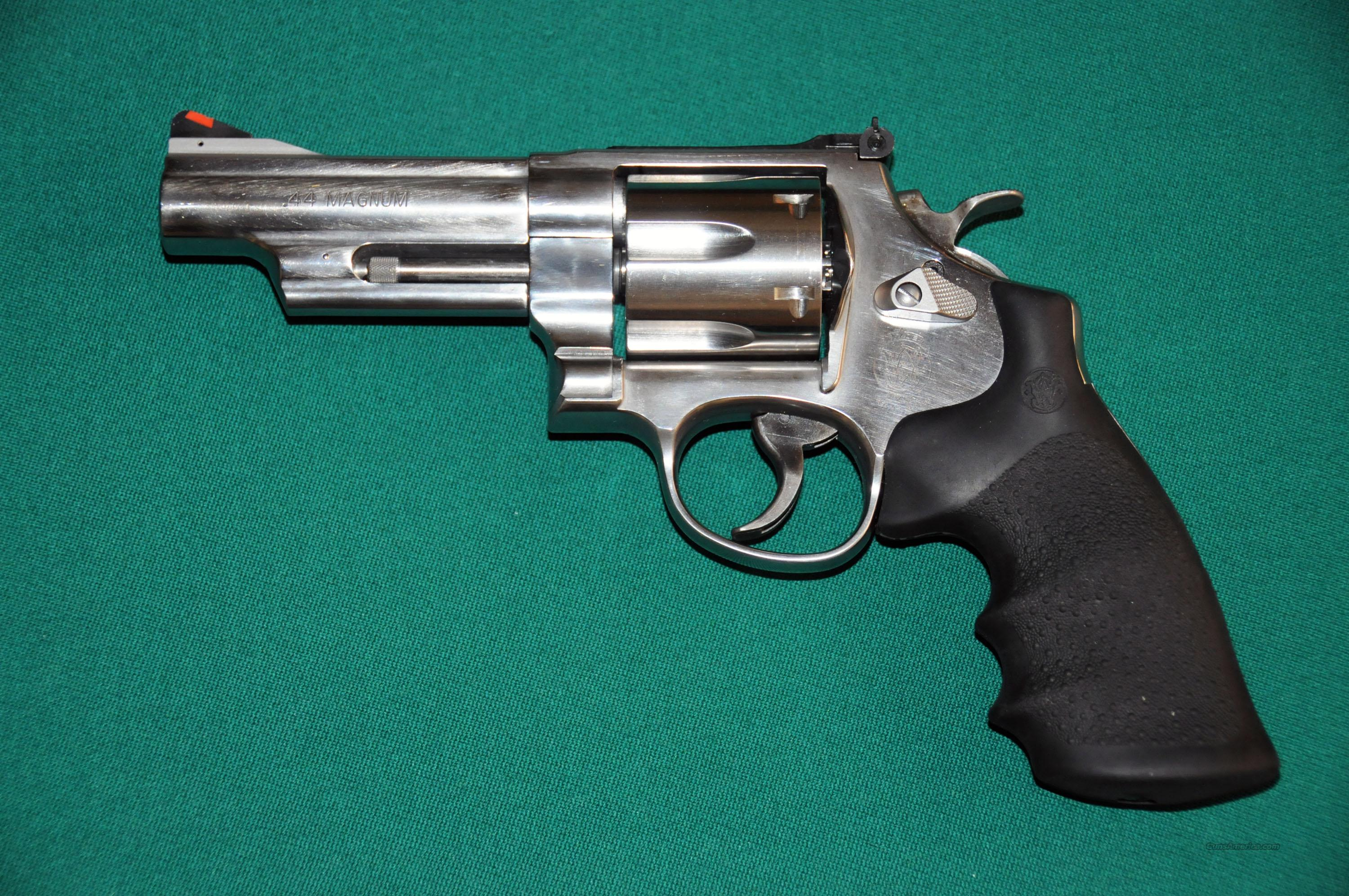 "4"" 629 Stainless Steel  Guns > Pistols > Smith & Wesson Revolvers > Model 629"
