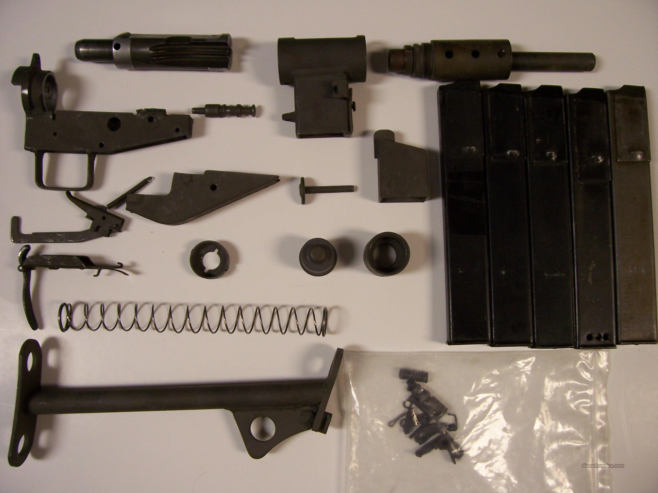 Sten MKII Submachinegun parts set    Non-Guns > Gun Parts > Military - Foreign