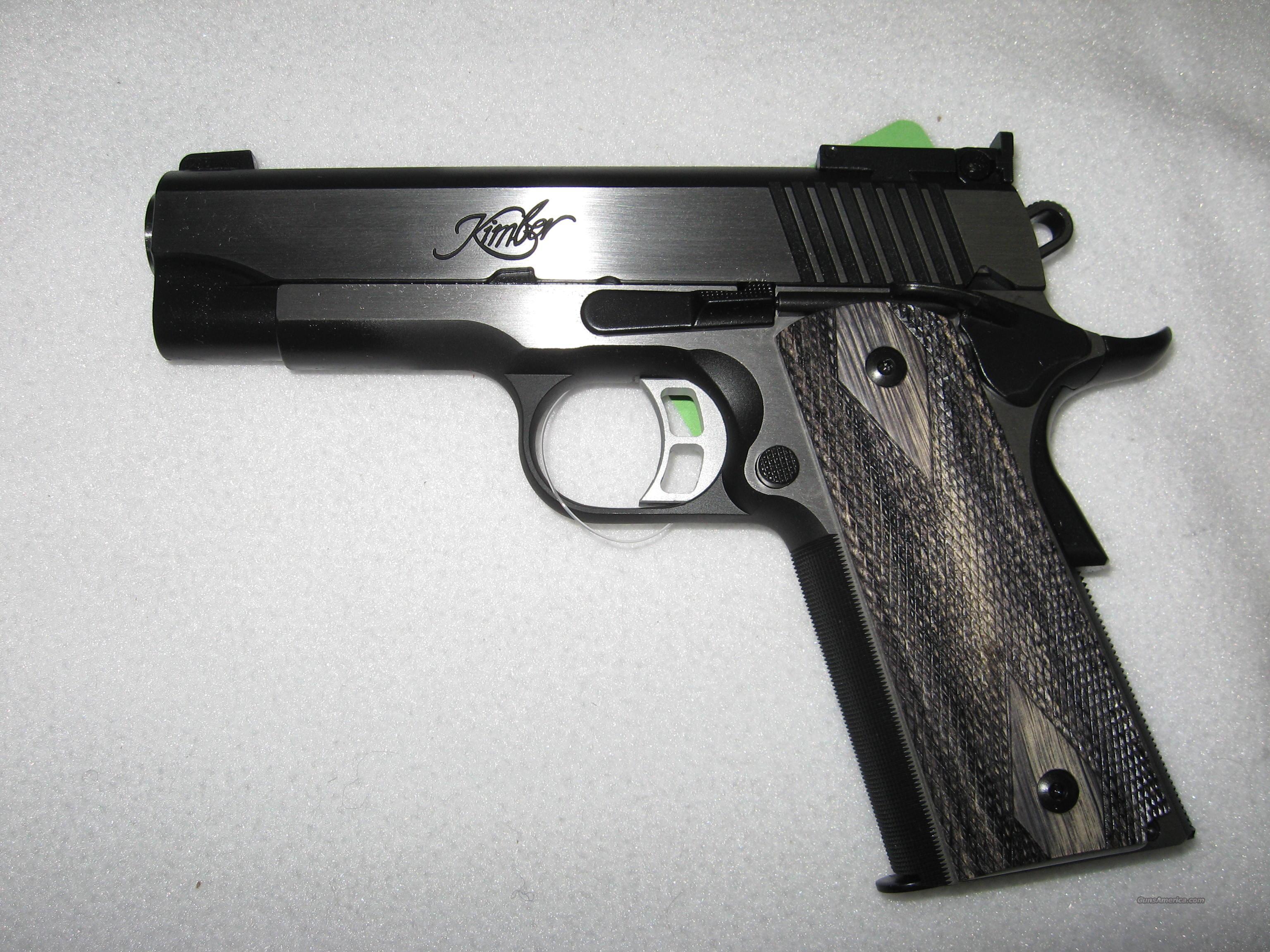 Kimber Eclipse Pro Target II  Guns > Pistols > Kimber of America Pistols