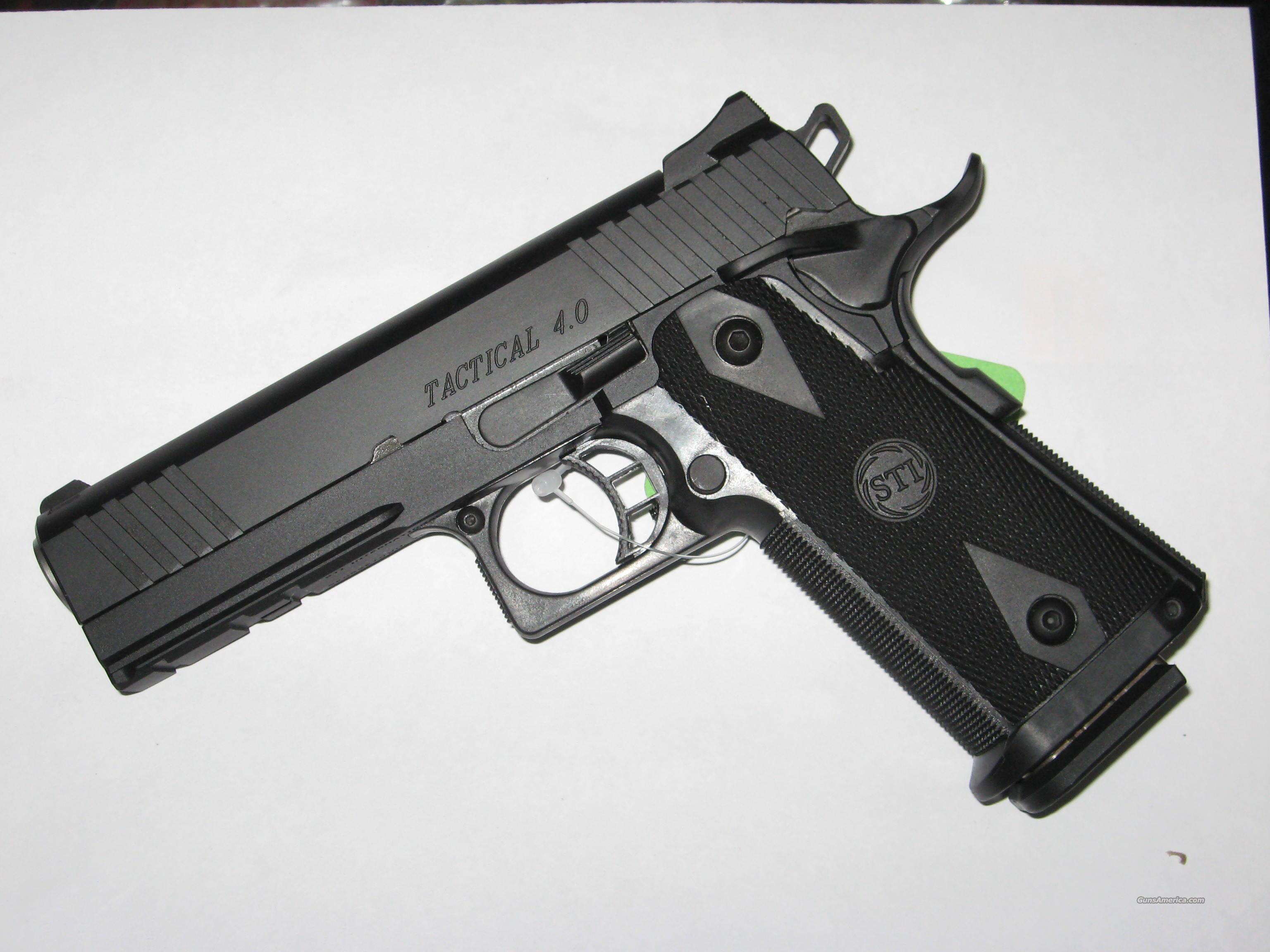 STI Tactical 4.0 in 45 ACP  Guns > Pistols > STI Pistols