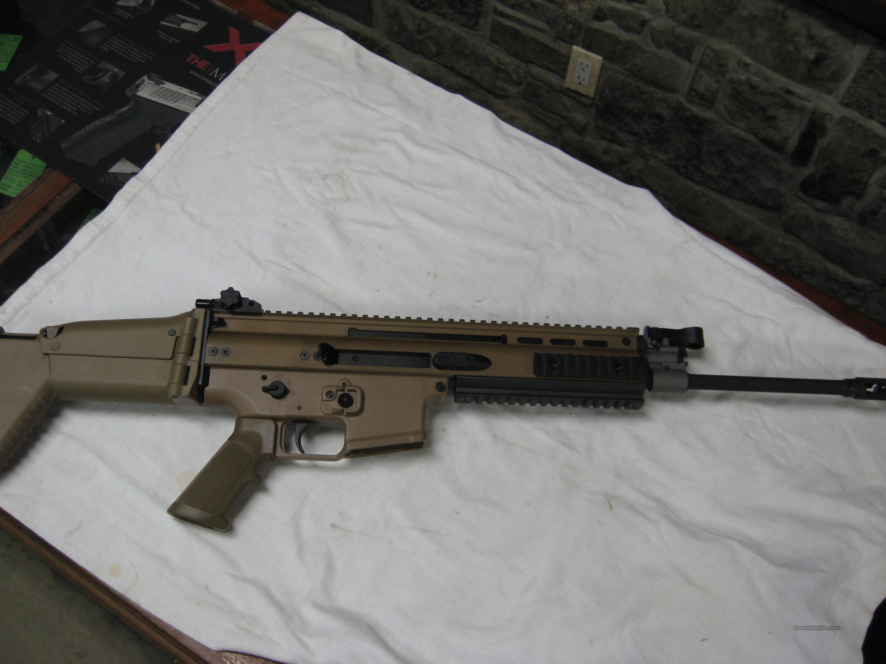 FN  SCAR rifle  Guns > Rifles > FNH - Fabrique Nationale (FN) Rifles > Semi-auto > Other