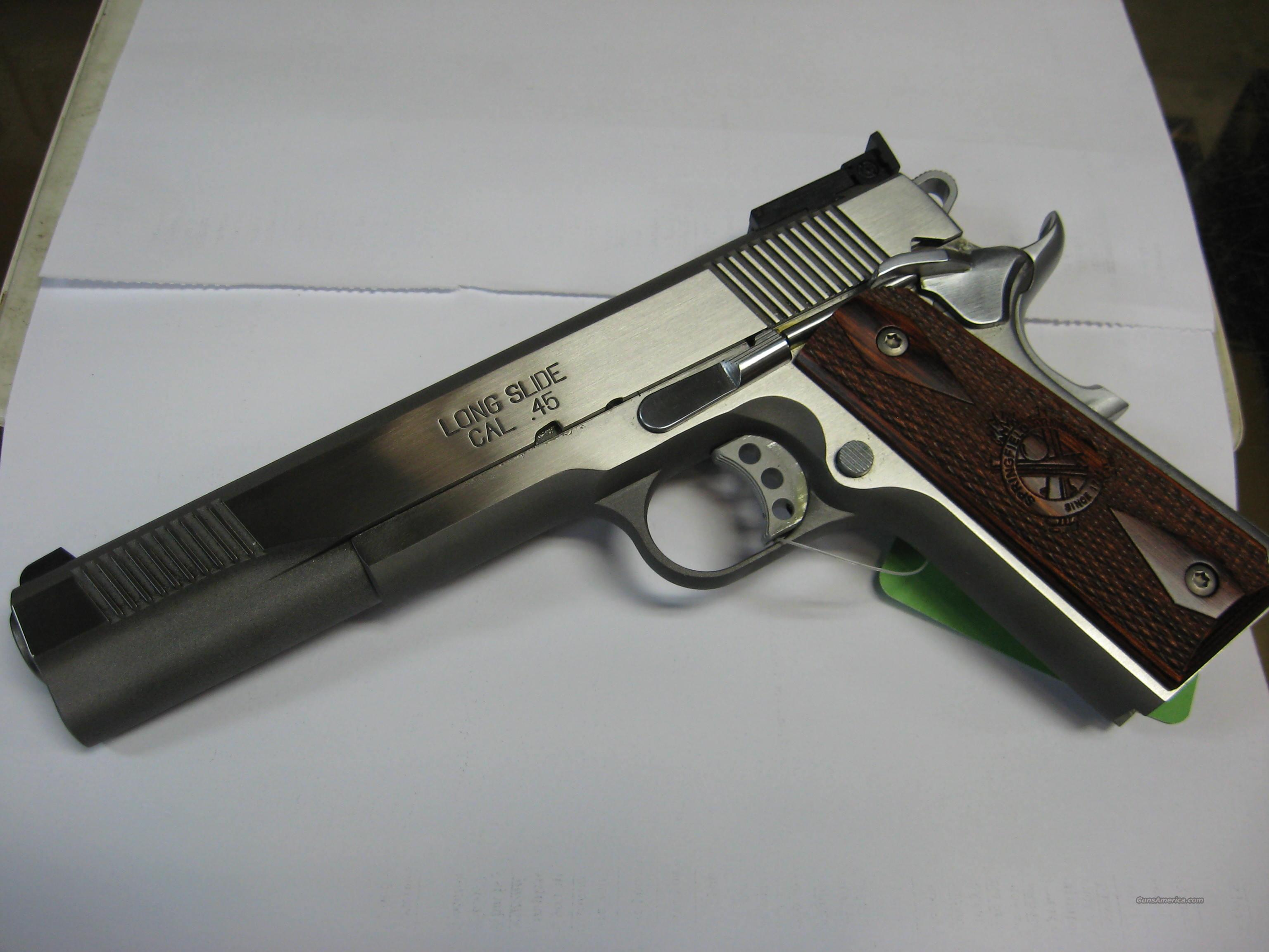 Springfield Long slide 1911 in 45ACP  Guns > Pistols > Springfield Armory Pistols > 1911 Type