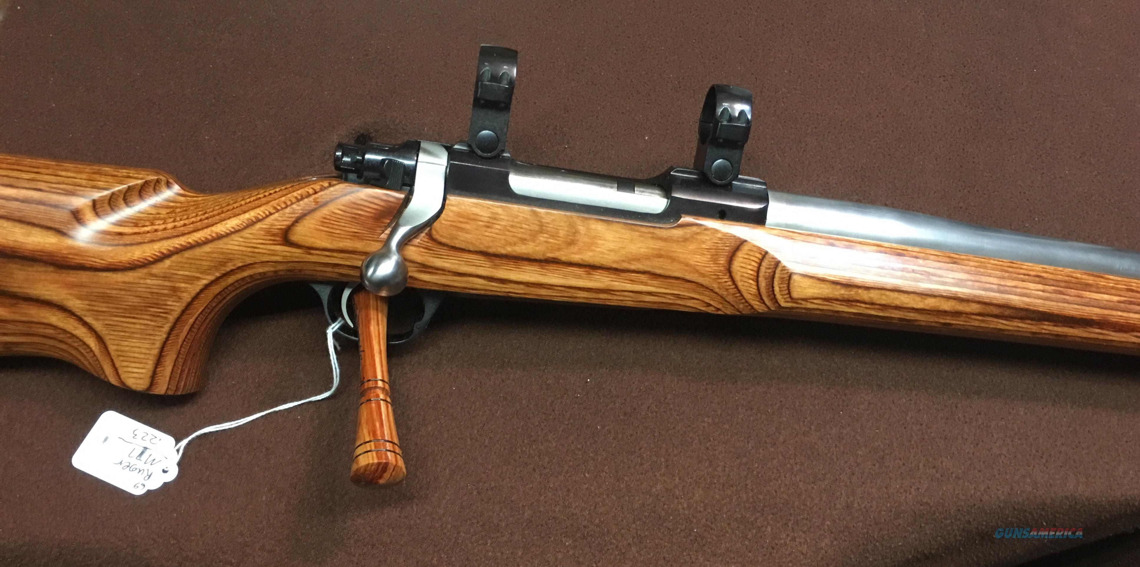 RUGER   M77  MKII   223    BULL BARREL  Guns > Rifles > Ruger Rifles > Model 77