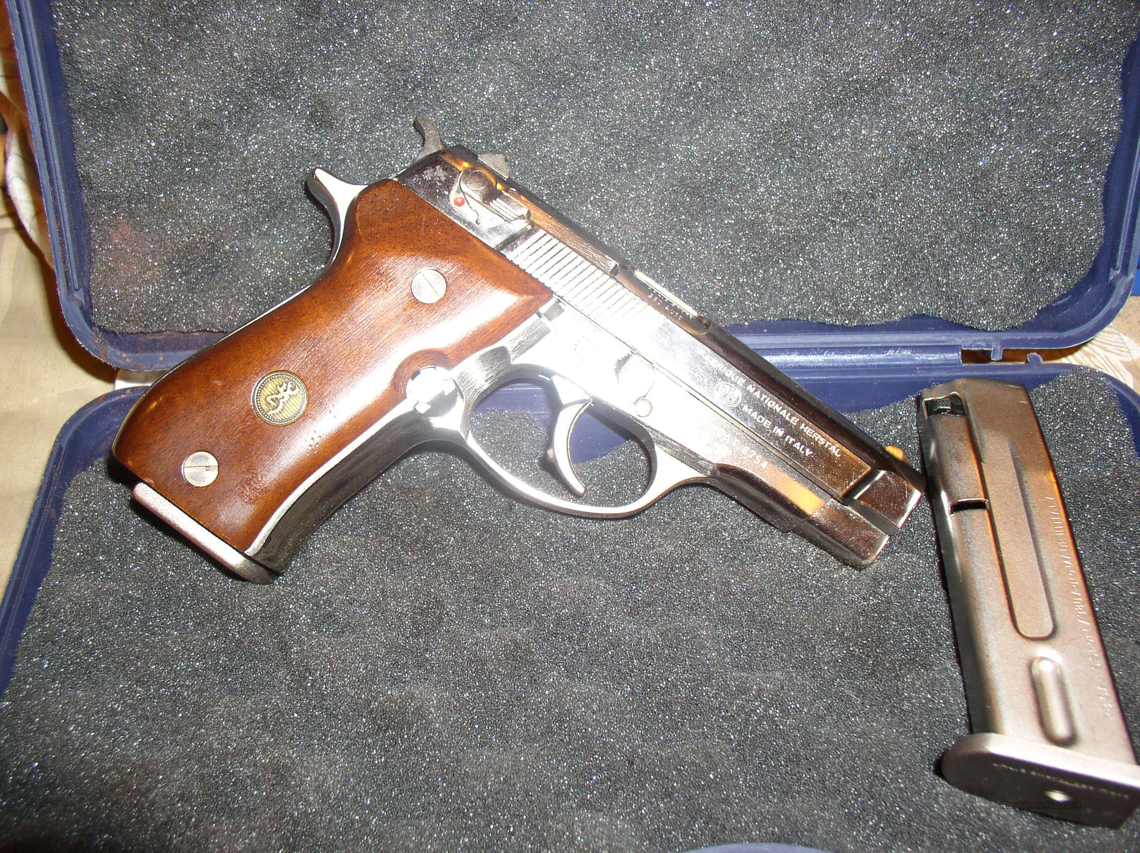 BROWNING BDA   380  NICKEL  Guns > Pistols > Browning Pistols > Other Autos