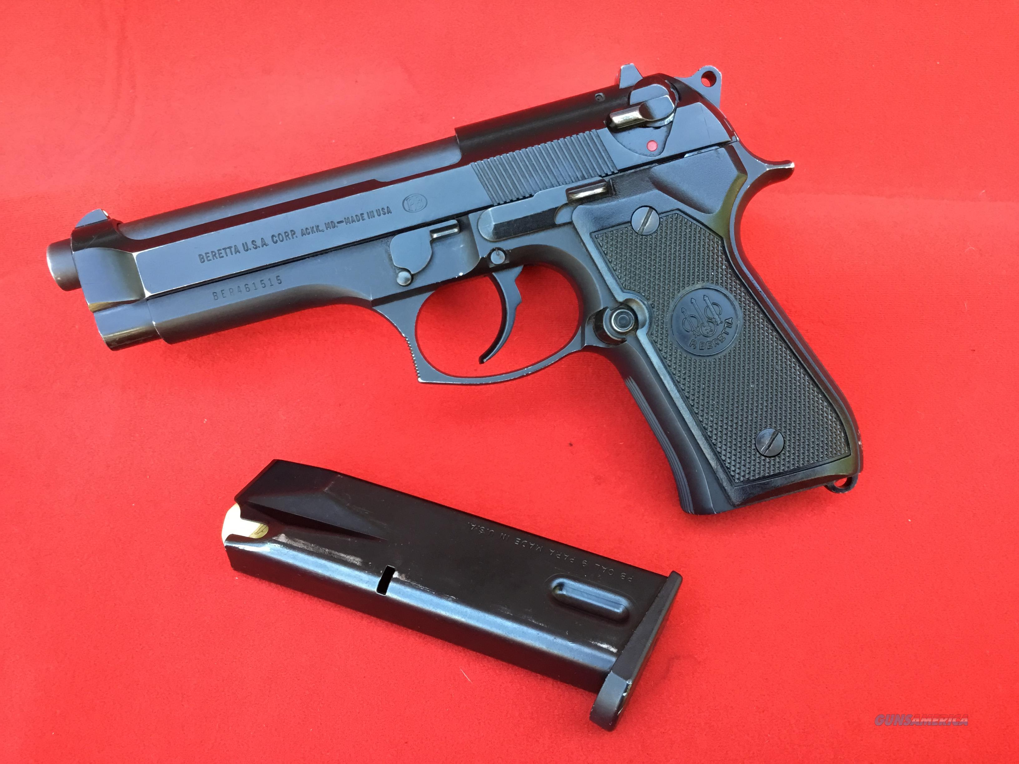 Beretta  92FS    excellant  condition  Guns > Pistols > Beretta Pistols > Model 92 Series