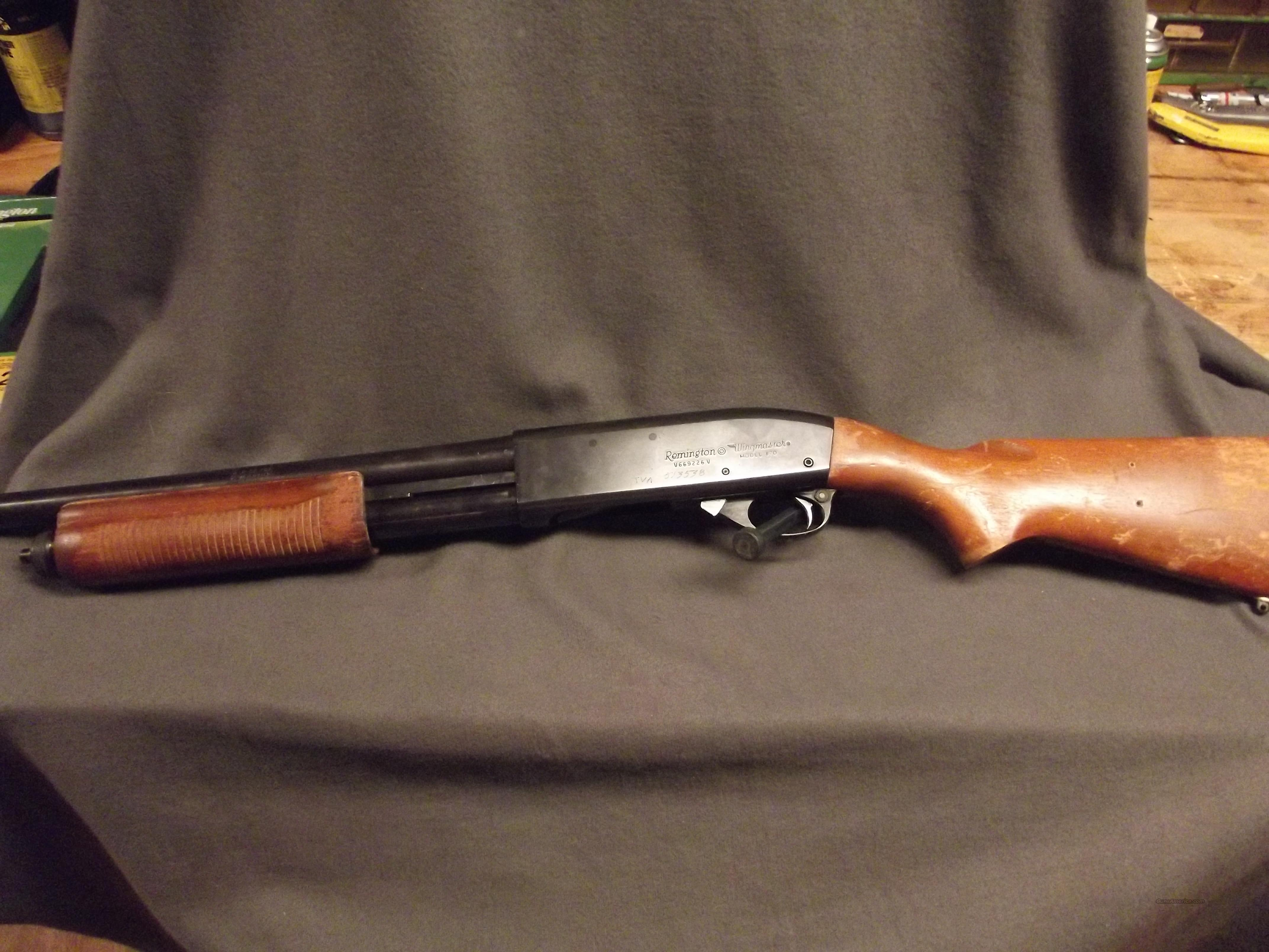 REMINGTON 870 WINGMASTER   (home defense)  Guns > Shotguns > Remington Shotguns  > Pump > Tactical