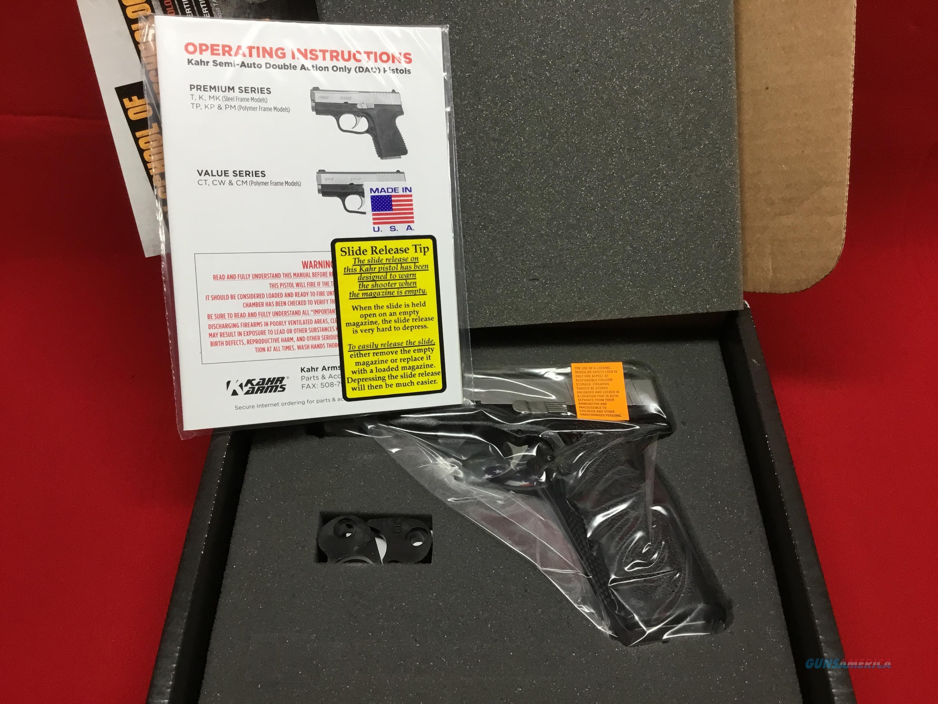 KAHR   CT45    NIB  Guns > Pistols > Kahr Pistols