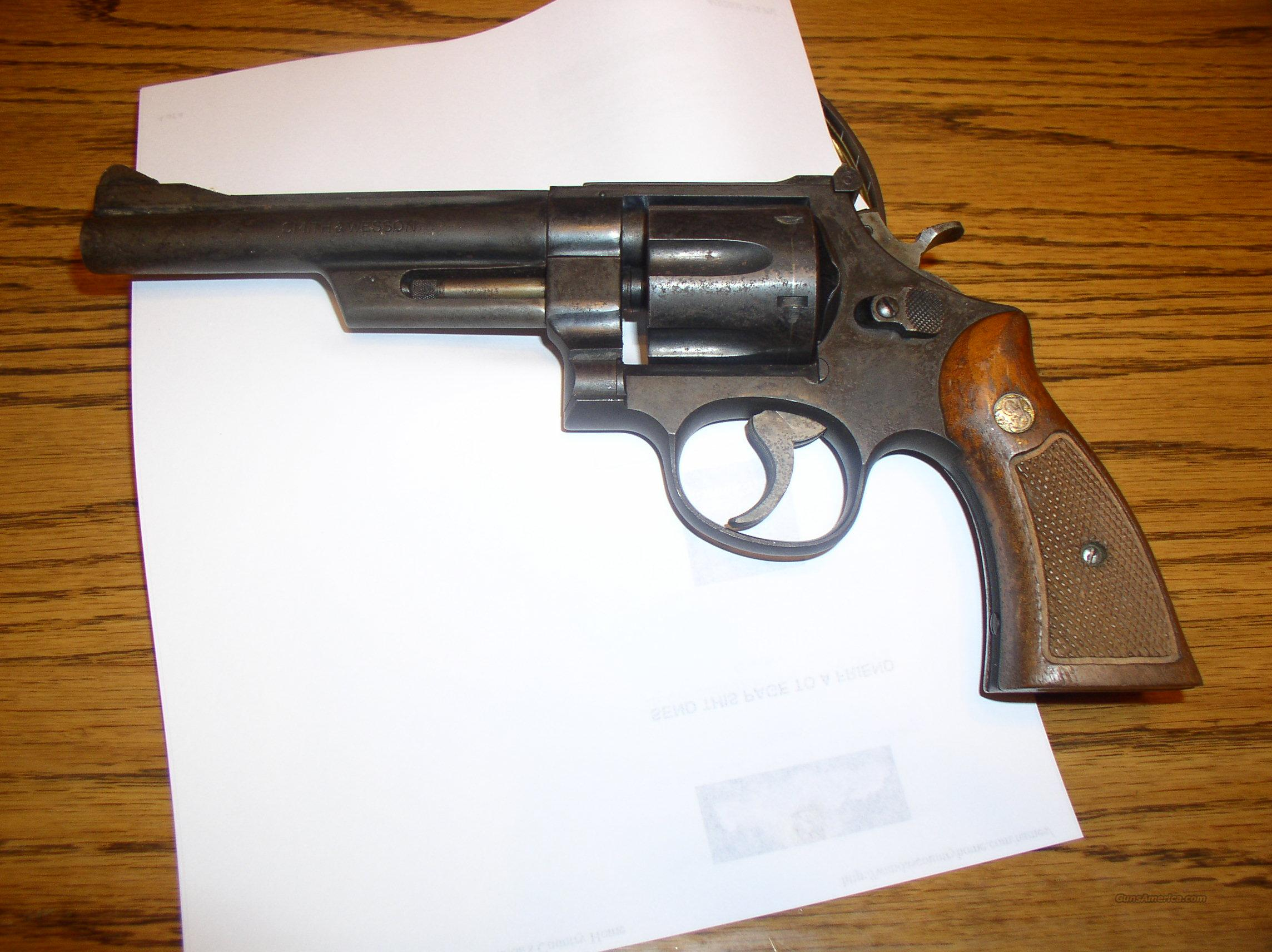 SMITH & WESSON  MOD.28-2  Guns > Pistols > Smith & Wesson Revolvers > Full Frame Revolver