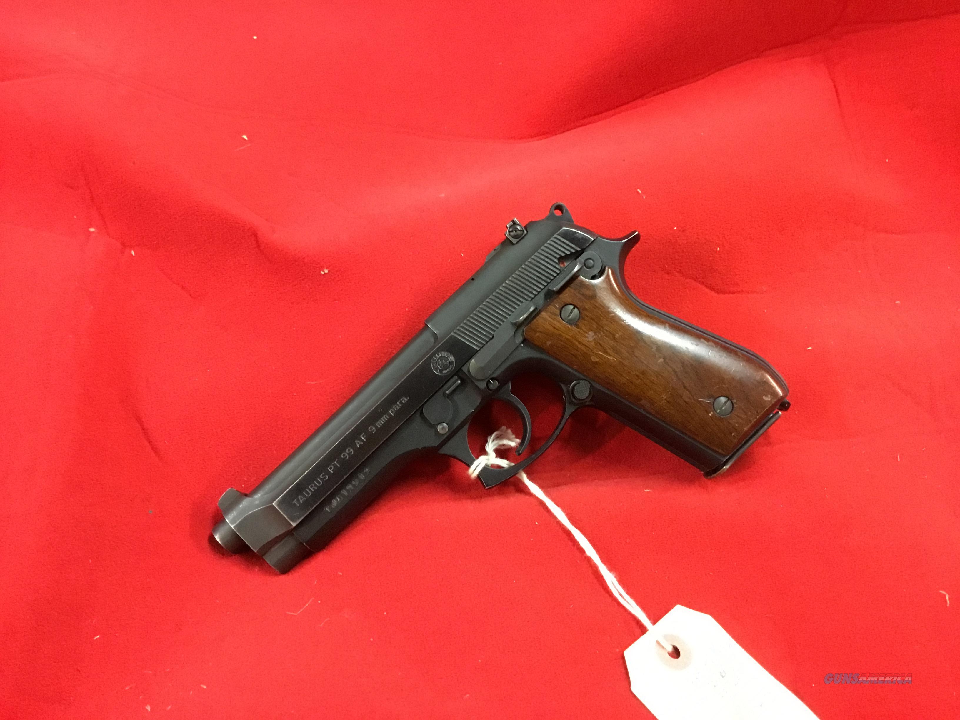 TAURUS  99  AF        (Beretta clone)        Guns > Pistols > Taurus Pistols > Semi Auto Pistols > Steel Frame
