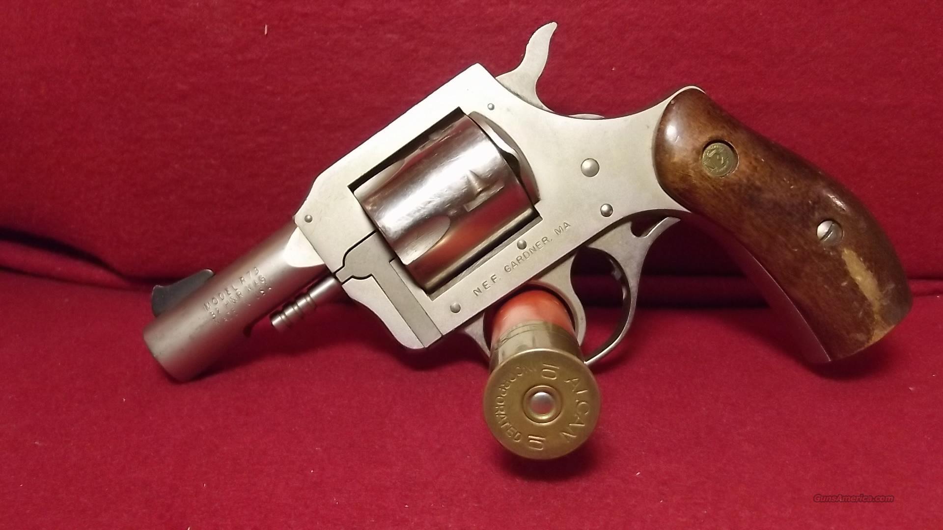N.E.F Model R73   32 H&R Mag. Stainless  Guns > Pistols > New England Firearms (NEF) Pistols