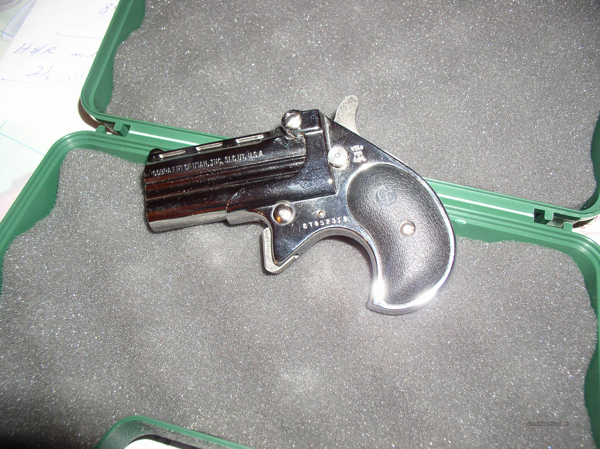 COBRA  DERRINGER 38 CAL.  Guns > Pistols > Cobra Derringers
