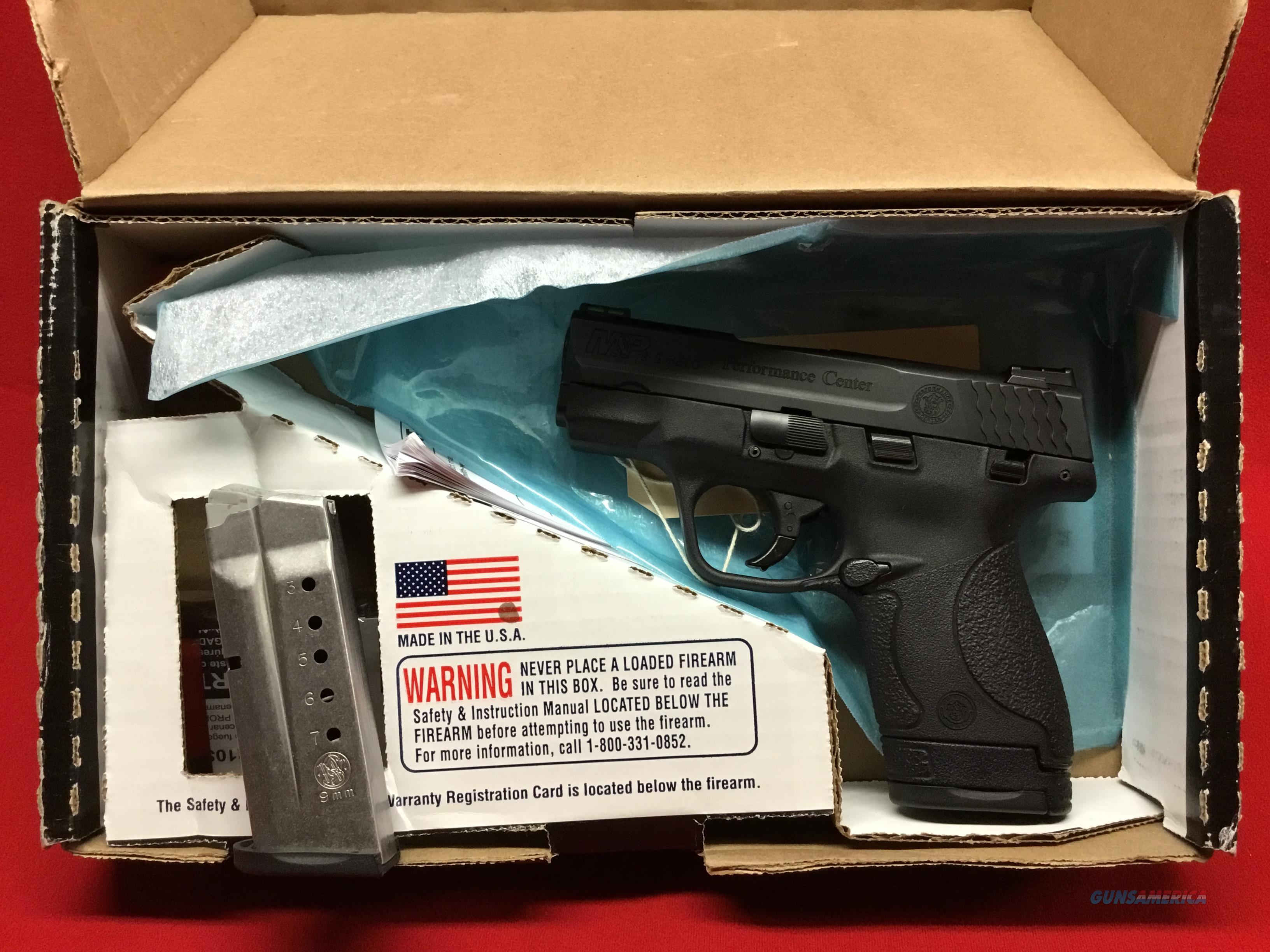 Smith Wesson  Shield    Performance Center  9mm   LNIB  Guns > Pistols > Smith & Wesson Pistols - Autos > Shield