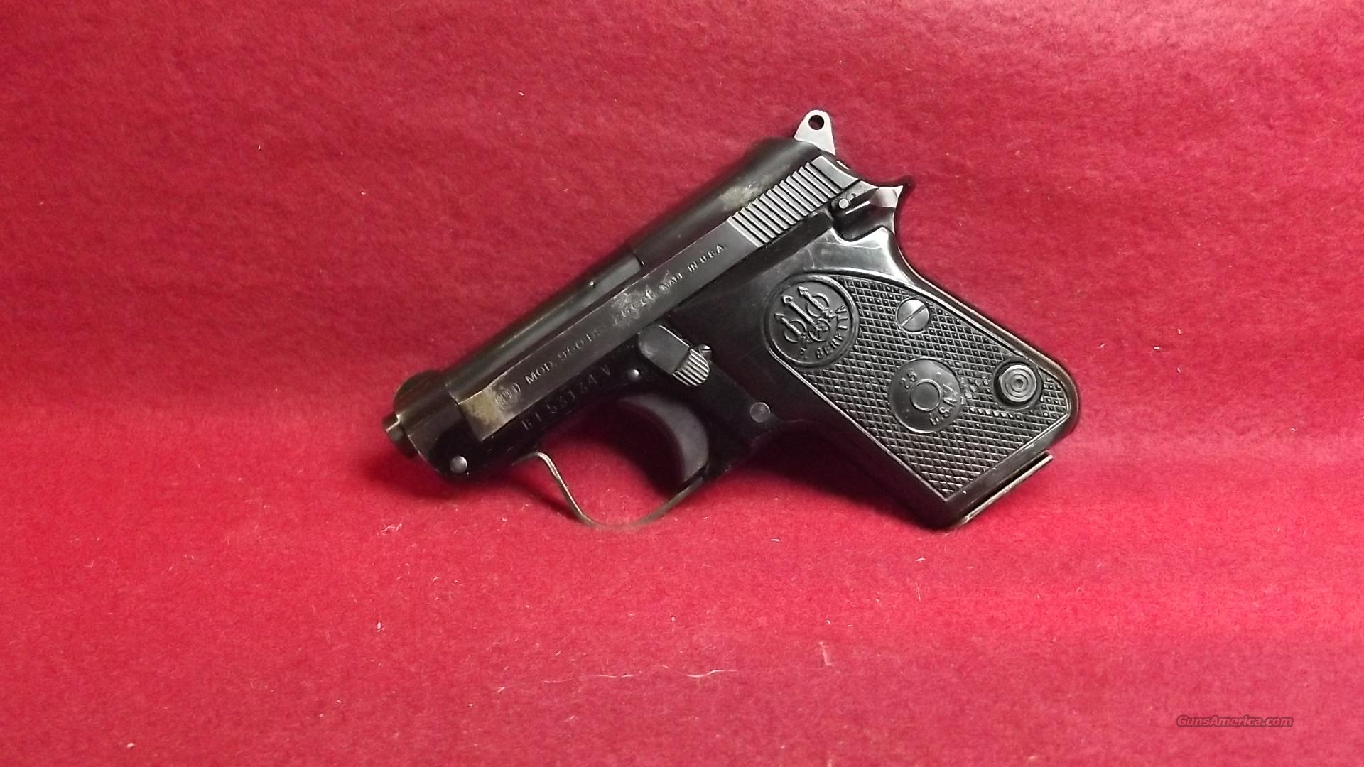 Bereta Model 950 BS  25 cal.   Guns > Pistols > Beretta Pistols > Small Caliber Tip Out