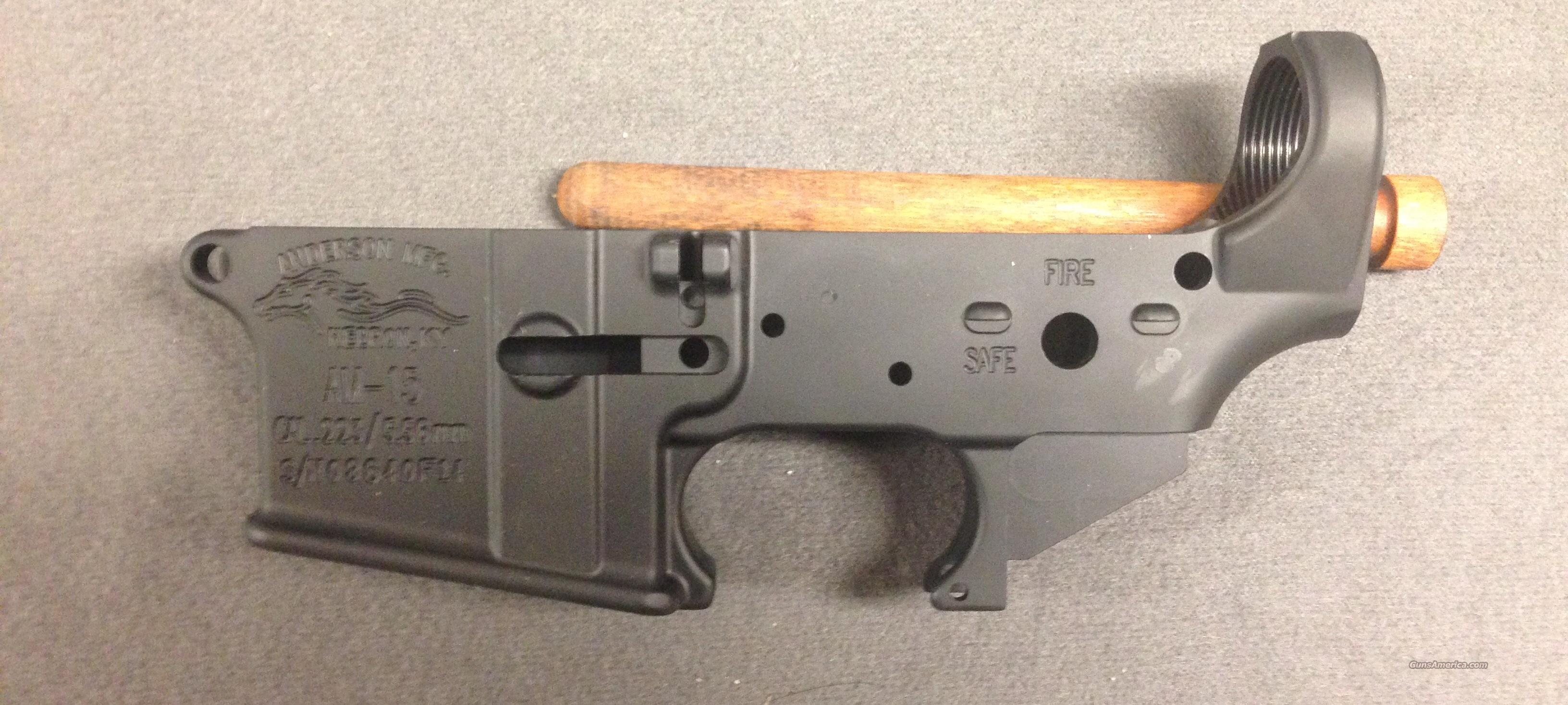 ANDERSON  STRIPPED  LOWER  Guns > Rifles > A Misc Rifles
