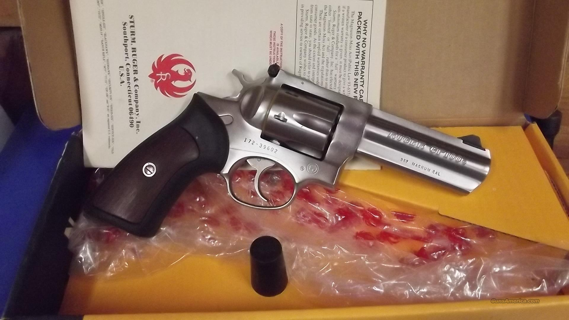 Ruger GP 100  357 mag  Guns > Pistols > Ruger Double Action Revolver > Security Six Type