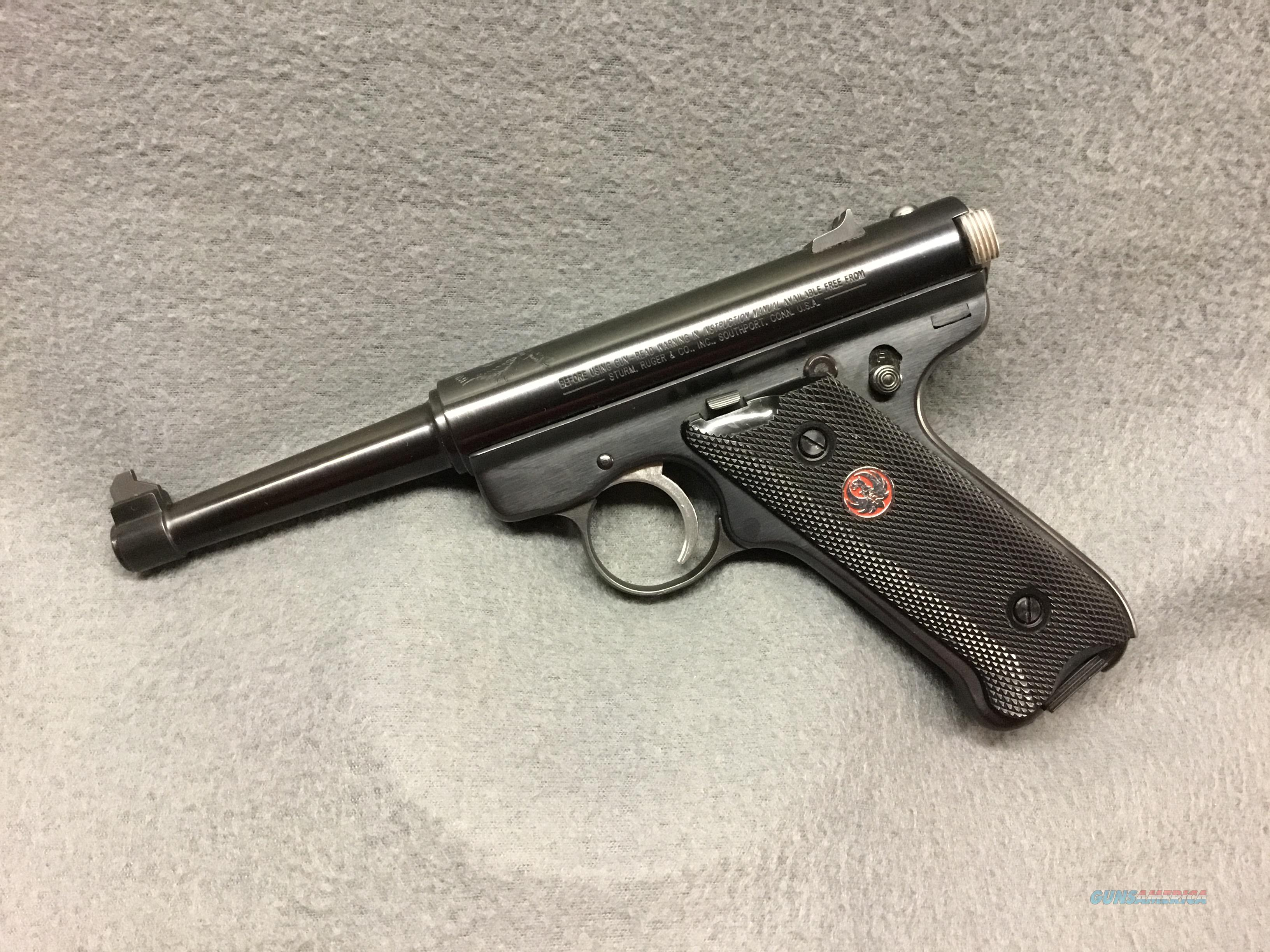 RUGER MKII    50TH ANNIVERSARY   EDITION    LIKE NEW   Guns > Pistols > Ruger Semi-Auto Pistols > Mark I/II/III/IV Family
