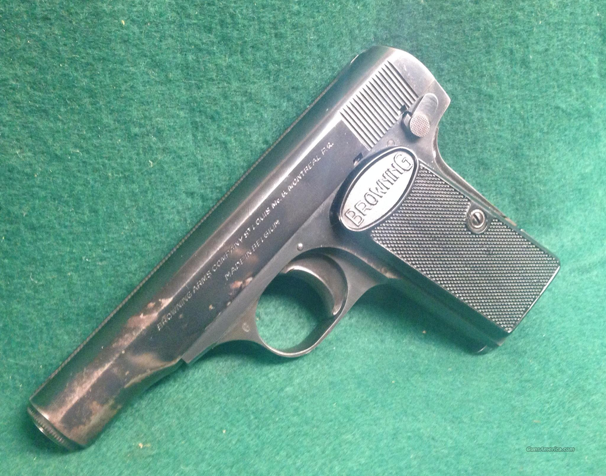 Browning 1955 380acp   Guns > Pistols > Browning Pistols > Other Autos
