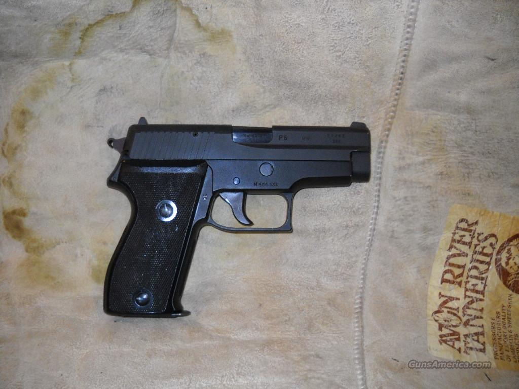 SIG SAUER   P6         SINGLE STACK 9MM  Guns > Pistols > Sig - Sauer/Sigarms Pistols > Other