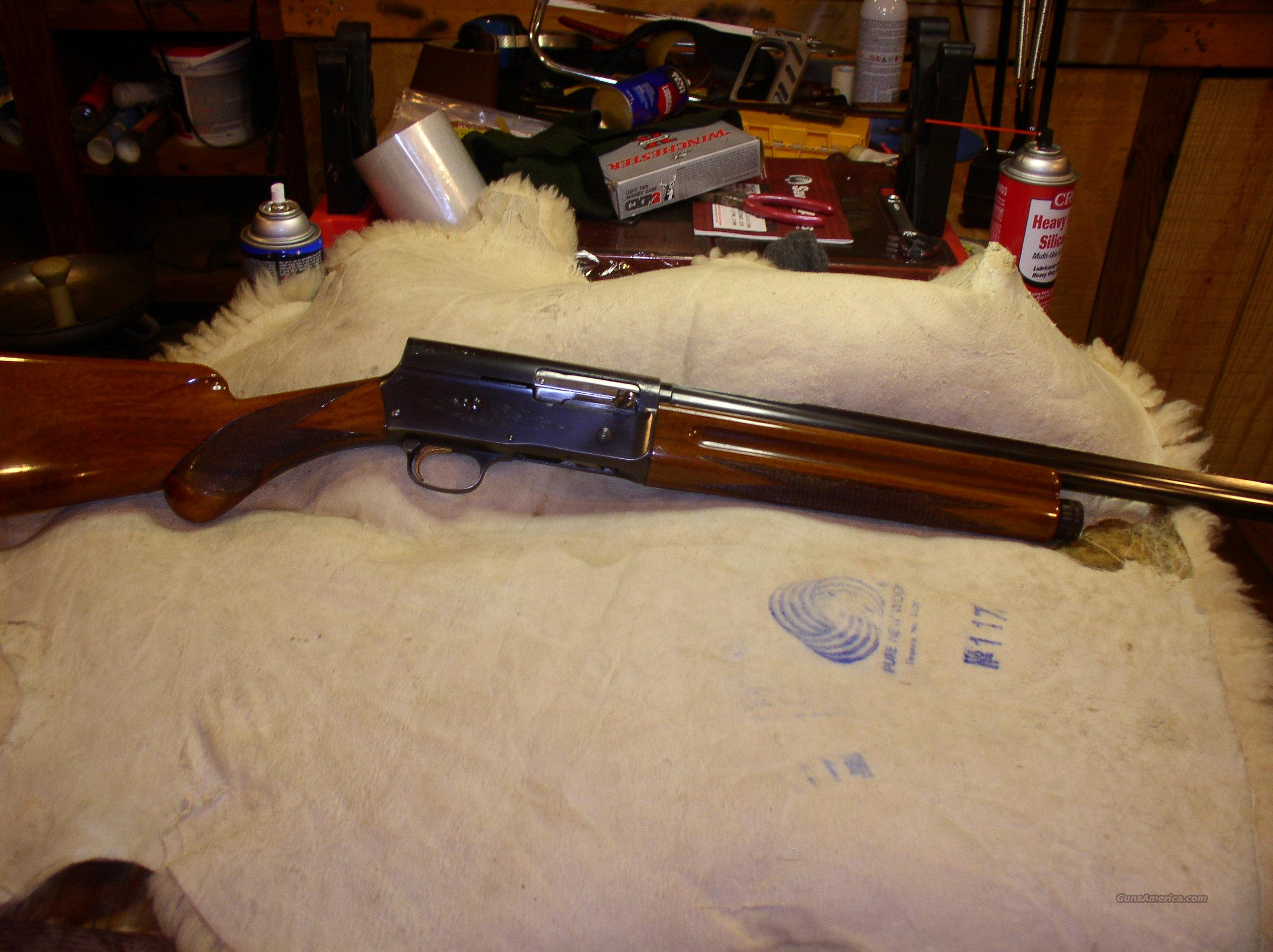 BROWNING SWEET 16   1962  Guns > Shotguns > Browning Shotguns > Autoloaders > Hunting