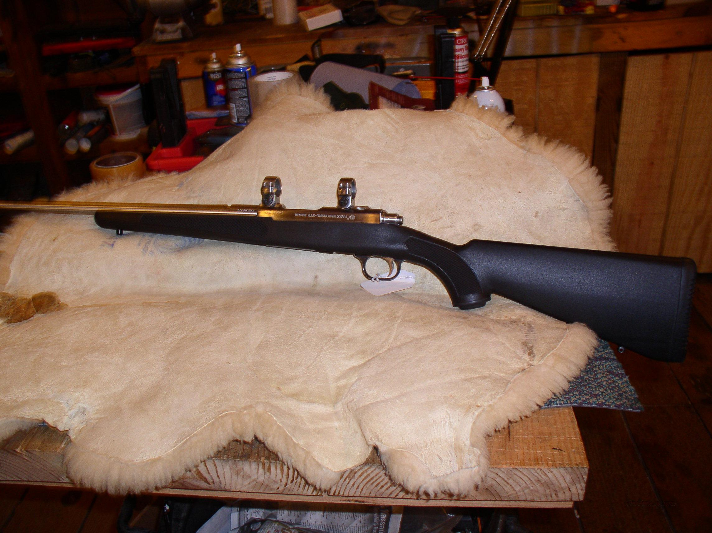 RUGER  77/44    STAINLESS  Guns > Rifles > Ruger Rifles > Model 77