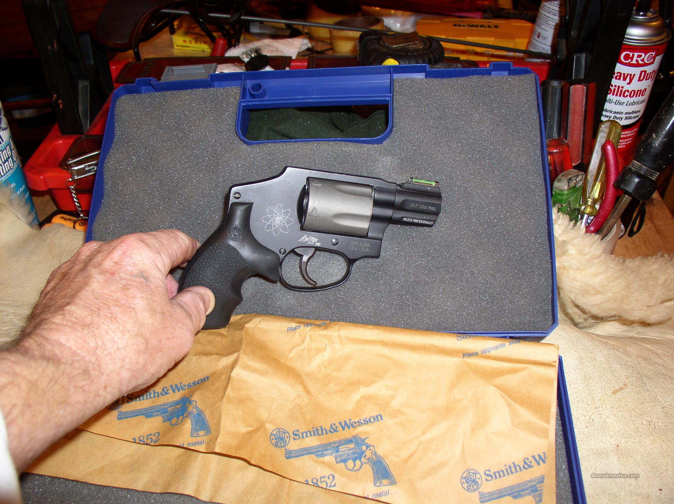 SMITH WESSON  340 PD    AIRLITE  Guns > Pistols > Smith & Wesson Revolvers > Pocket Pistols