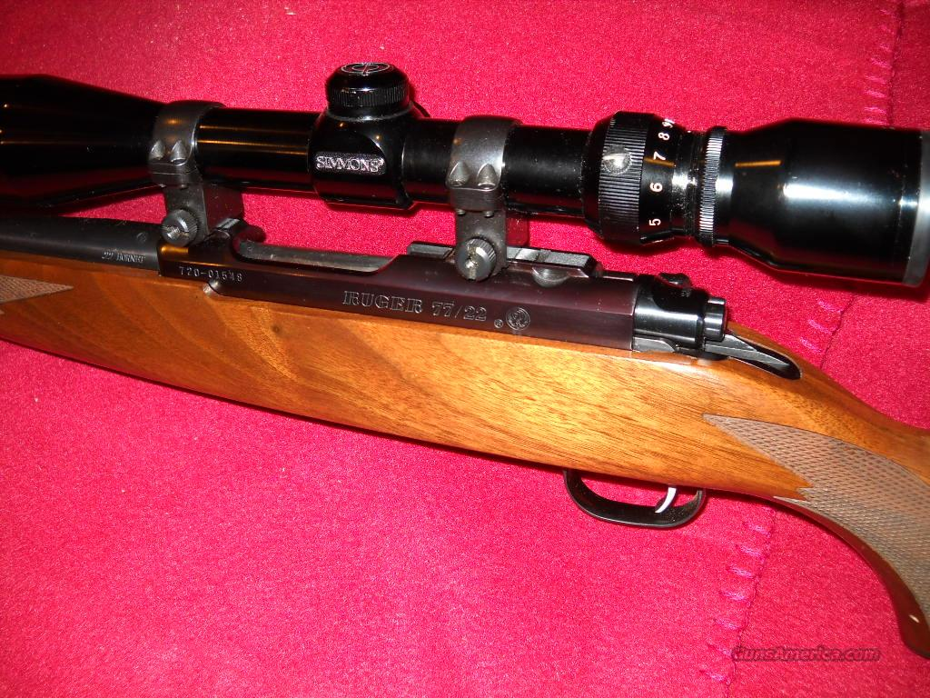 RUGER  77/22  HORNET  Guns > Rifles > Ruger Rifles > Model 77