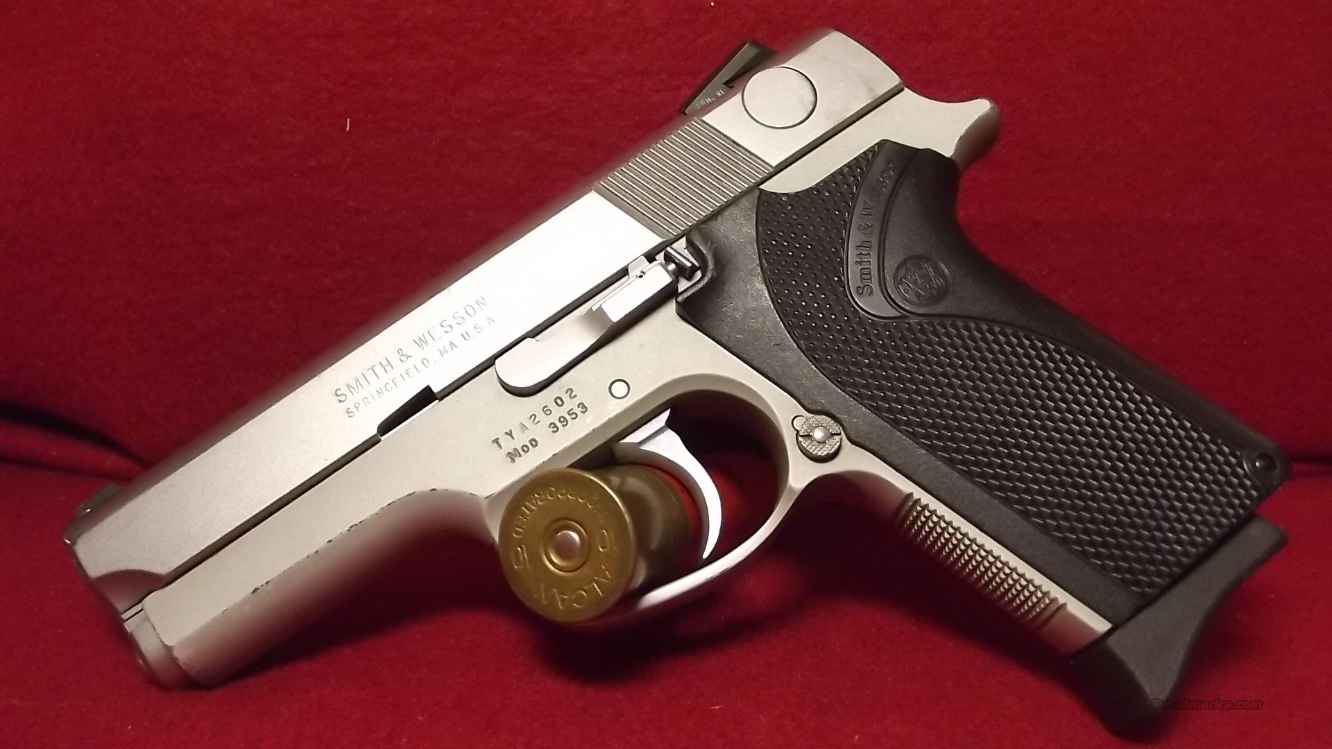 Smith and Wesson Mod 3953 9mm  Guns > Pistols > Smith & Wesson Pistols - Autos > Alloy Frame