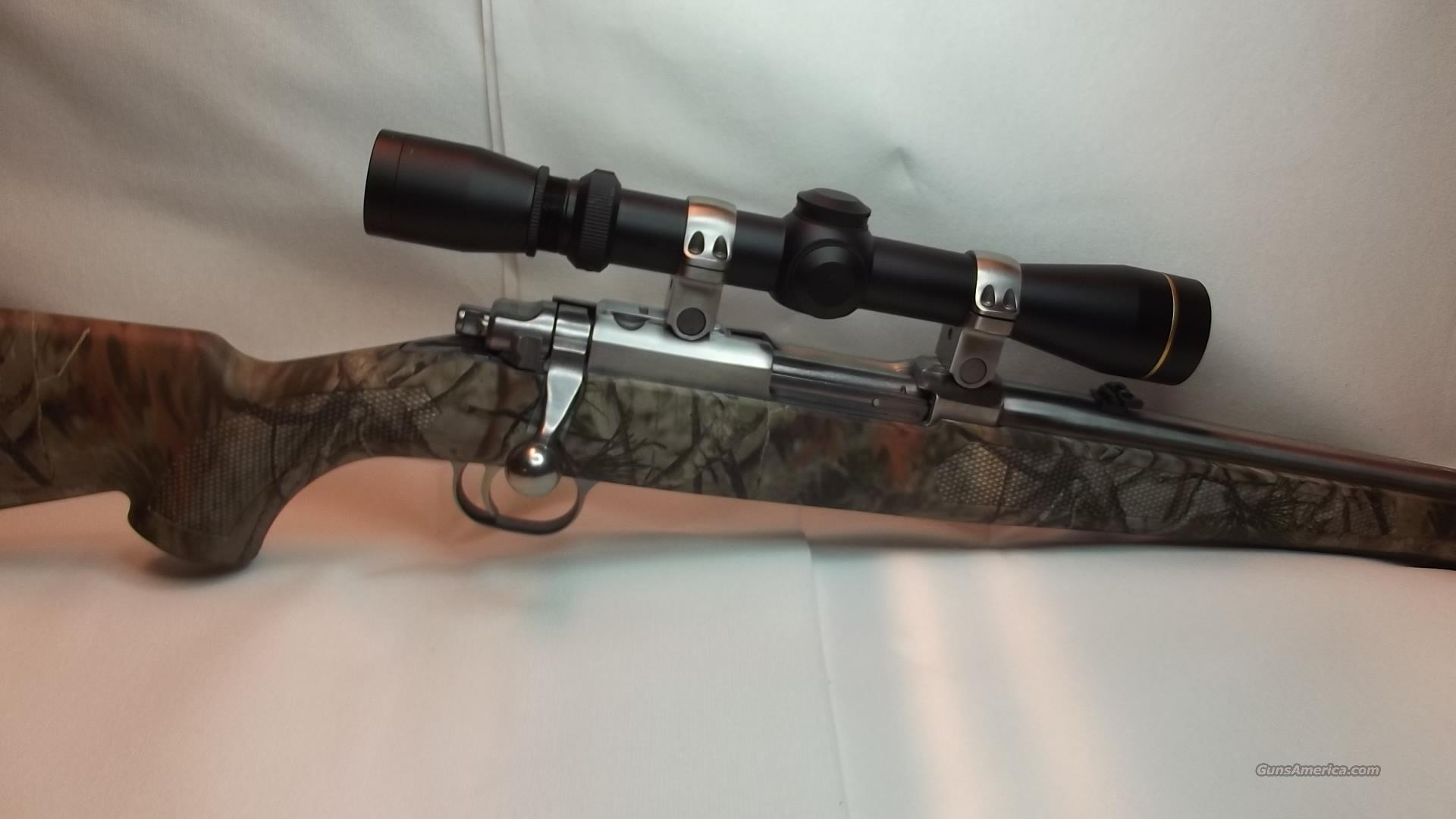 Ruger 77/44  Camo and Stainless   Guns > Rifles > Ruger Rifles > Model 77