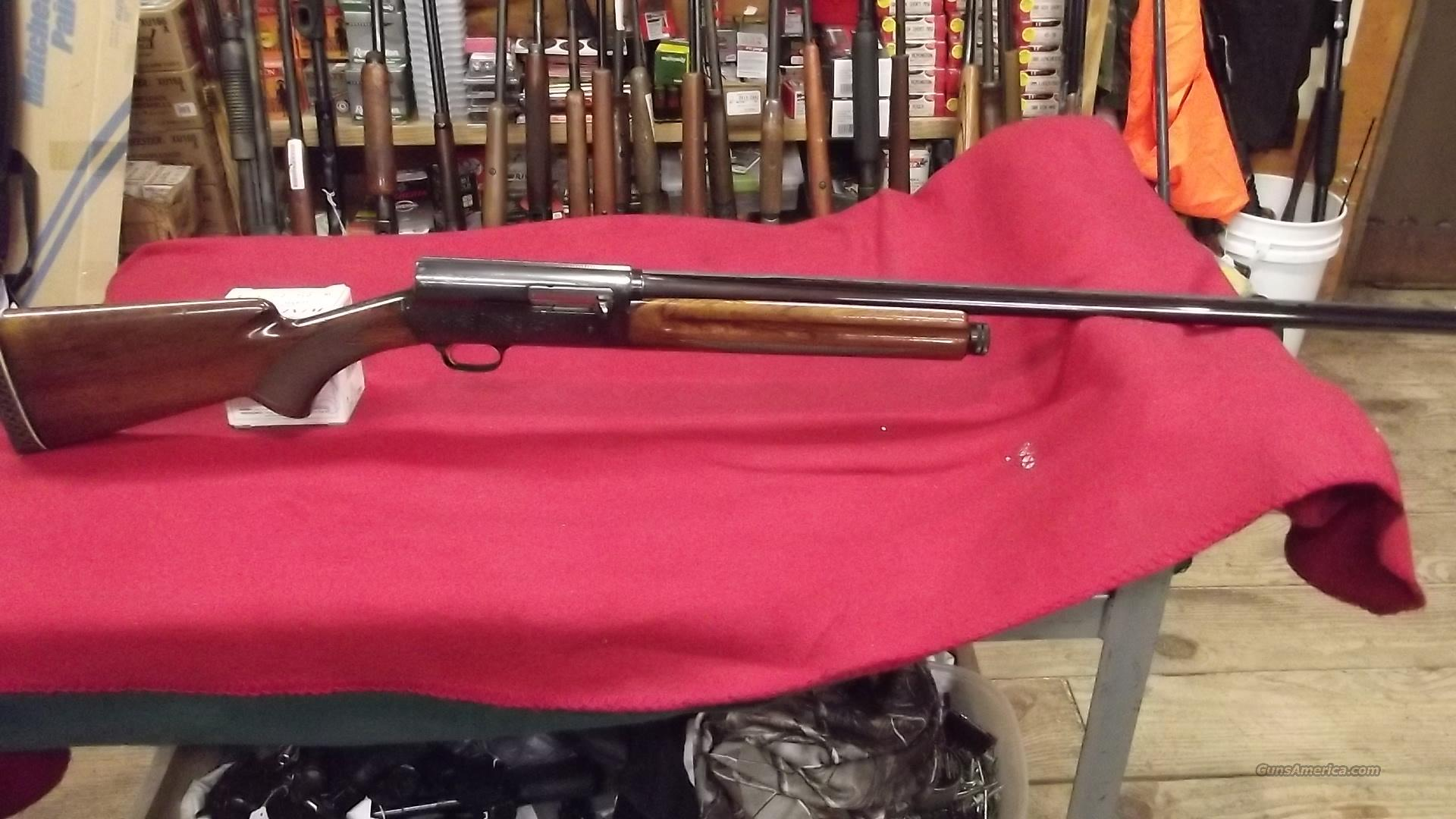 Browning A5  LT 20ga.   Guns > Shotguns > Browning Shotguns > Autoloaders > Hunting