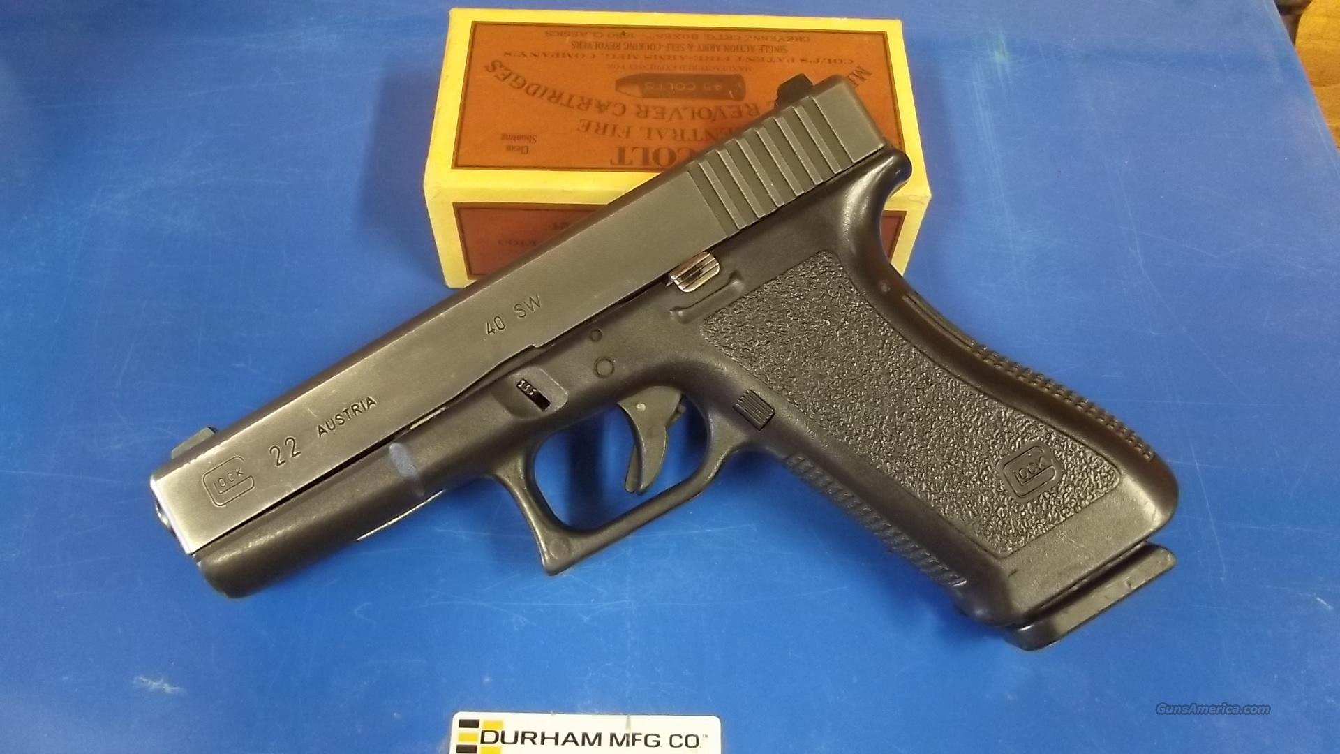 GLOCK 22       SECOND GEN      NITE   SITES  Guns > Pistols > Glock Pistols > 22